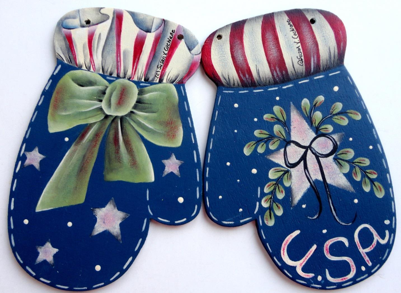 Patriotic Mittens - E-Packet - Susan Cochrane