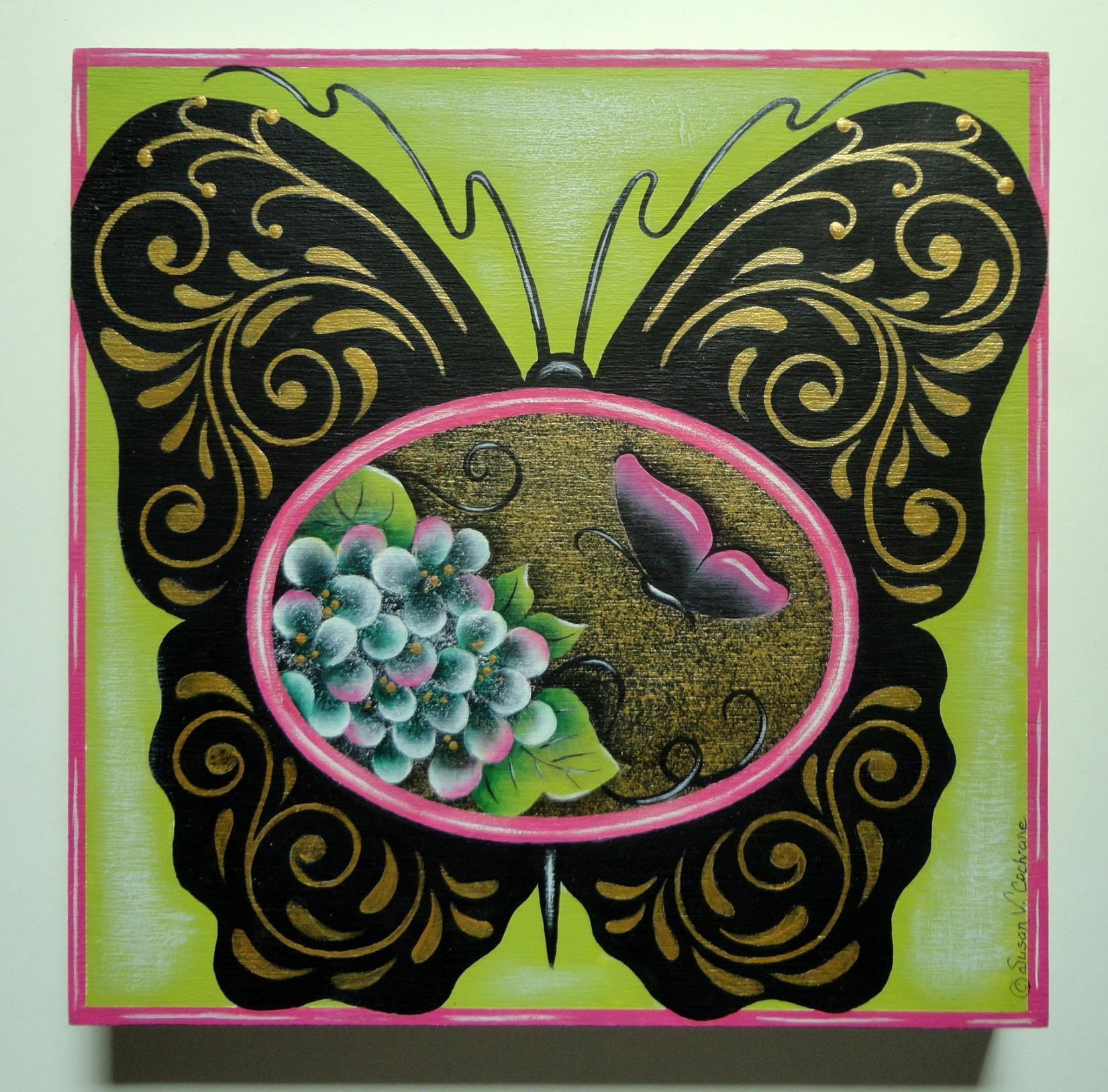 Elegant Butterfly - E-Packet - Susan Cochrane