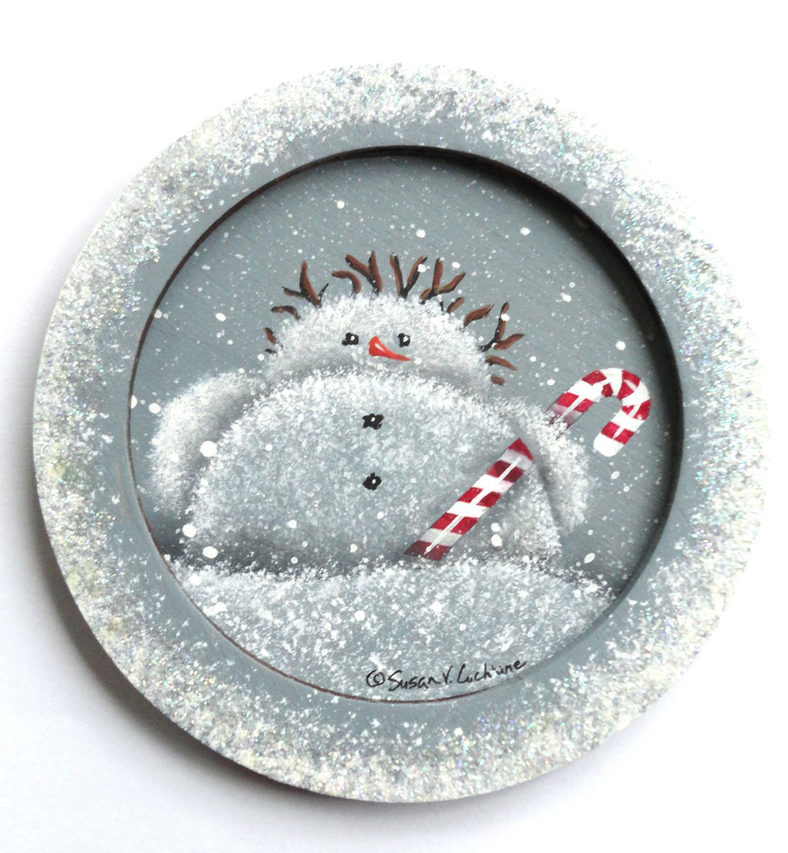 Snow Baby Ornament - E-Packet - Susan Cochrane