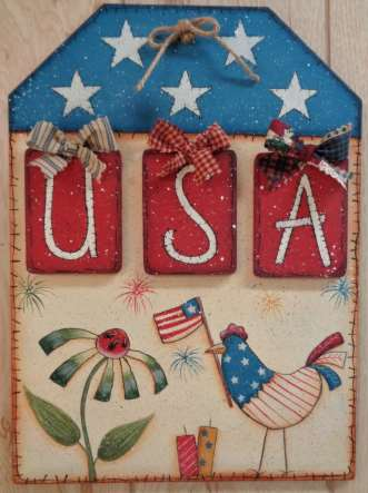 USA Door Hanger - E-Packet - Betty Bowers