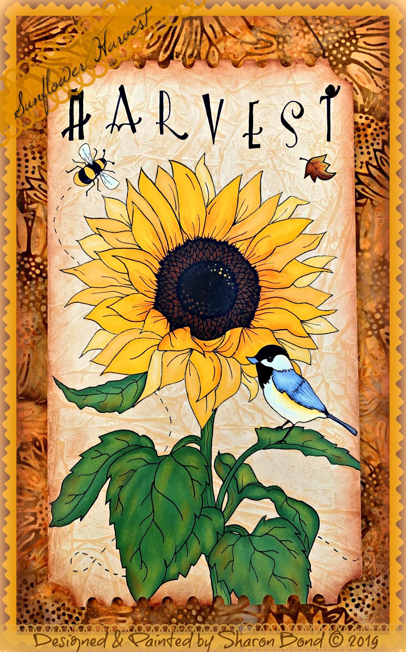 Sunflower Harvest - E-Packet - Sharon Bond
