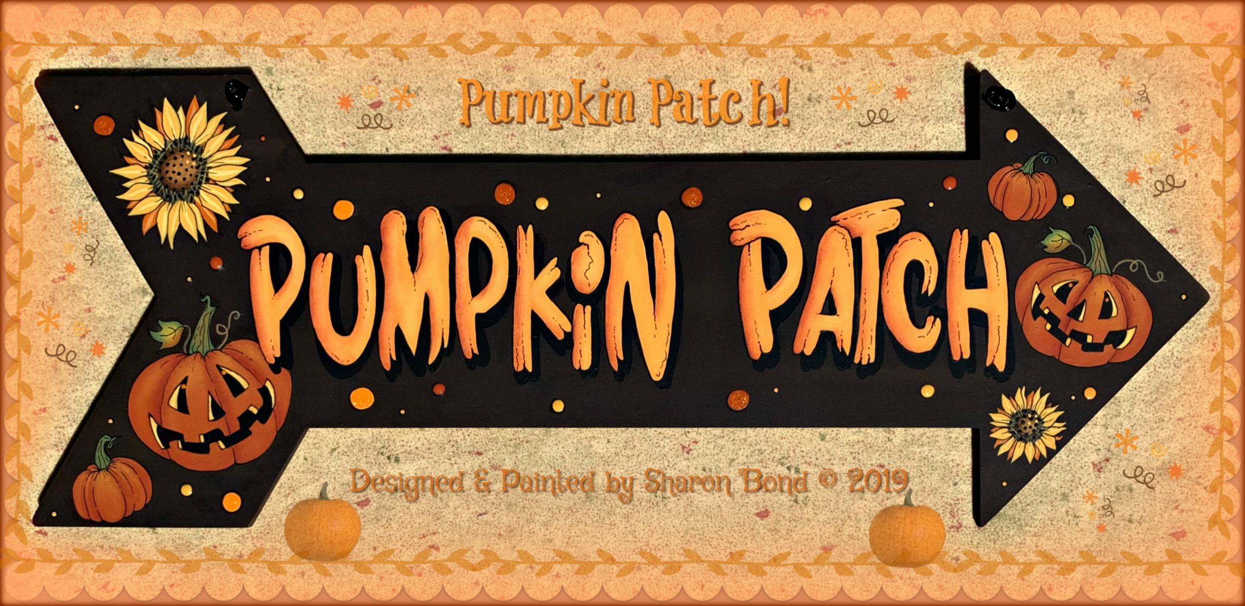 Pumpkin Patch - E-Packet - Sharon Bond