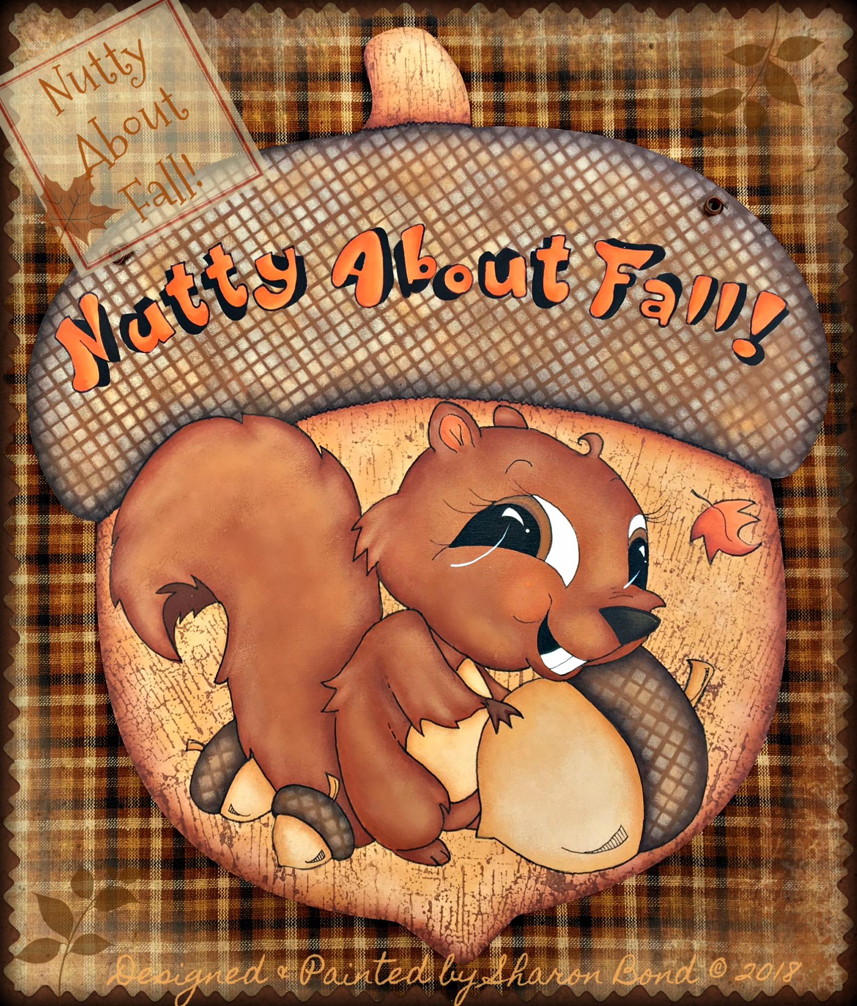 Nutty About Fall! - E-Packet - Sharon Bond