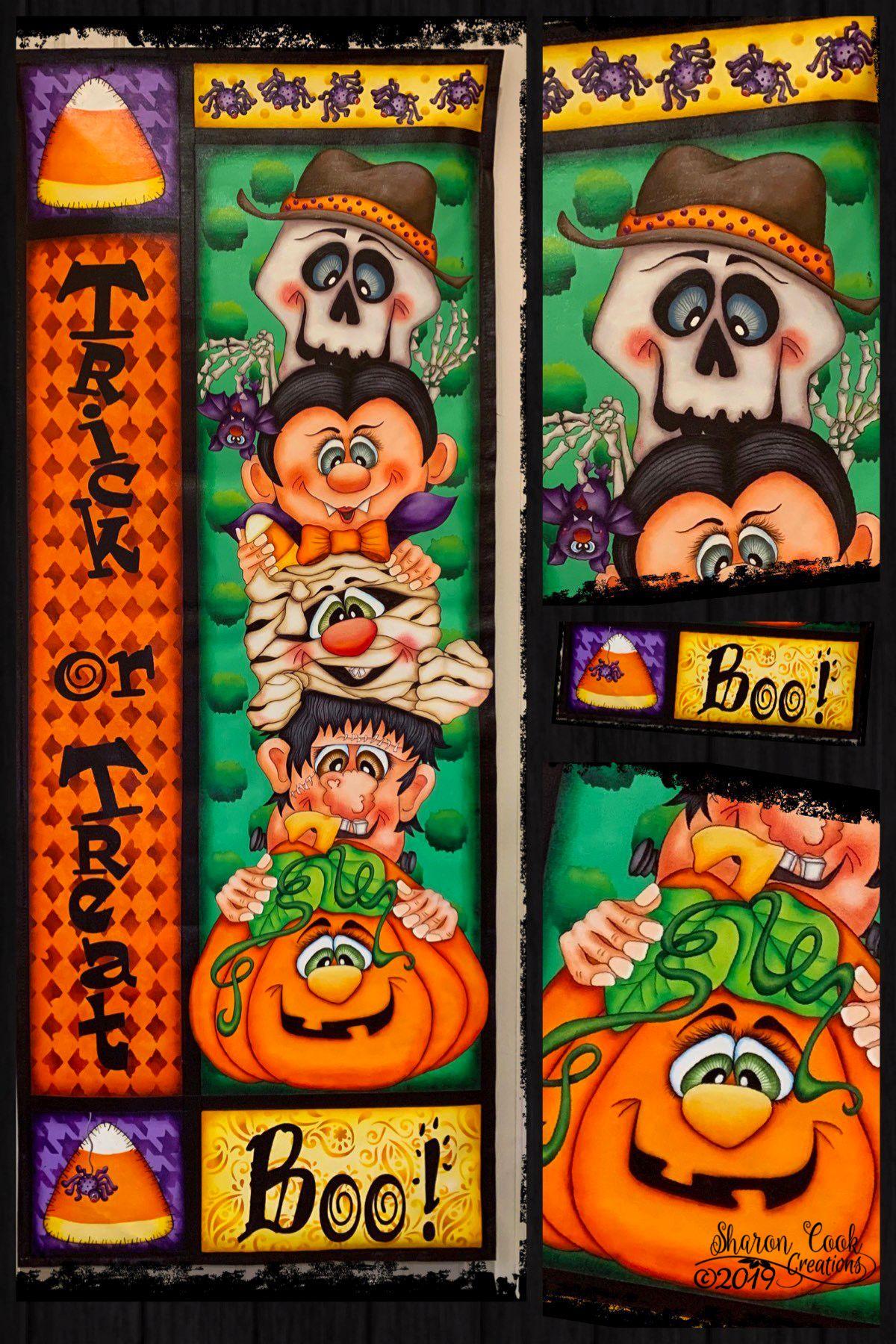 Boo Buddies! - E-Packet - Sharon Cook