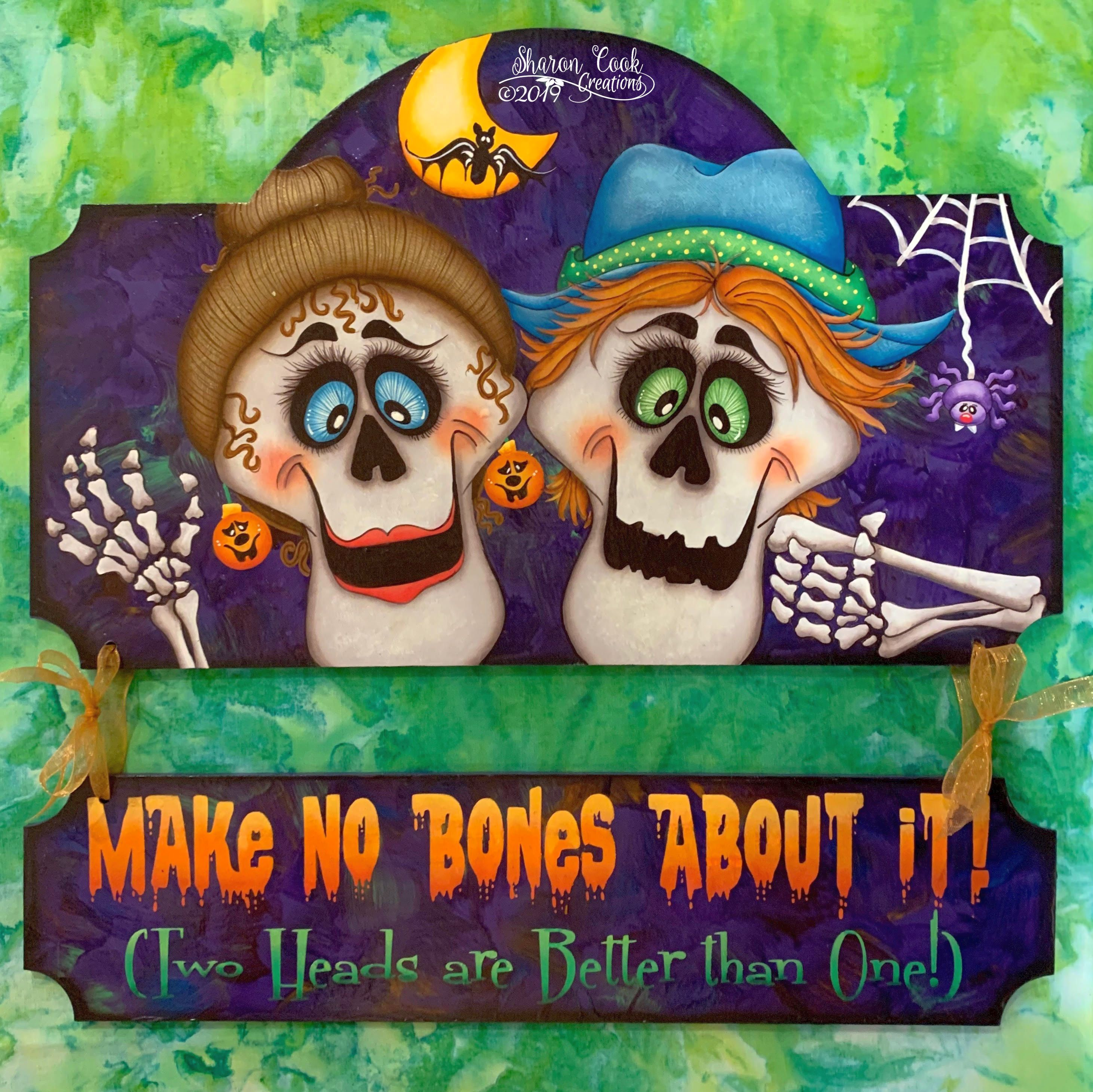 Make No Bones About It - E-Packet - Sharon Cook