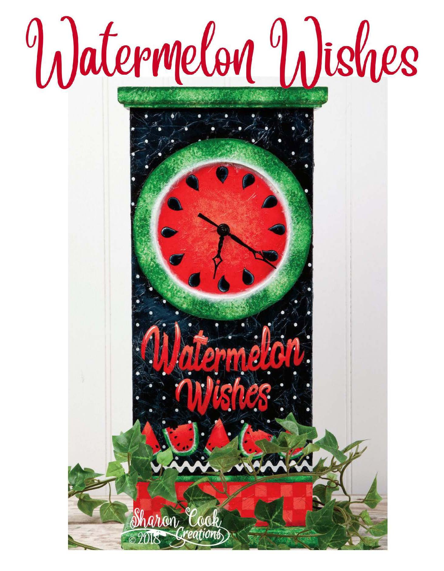 Watermelon Wishes - E-Packet - Sharon Cook