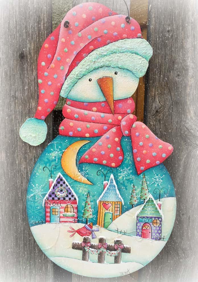 Frosty Snow Globe - E-Packet - Deb Antonick