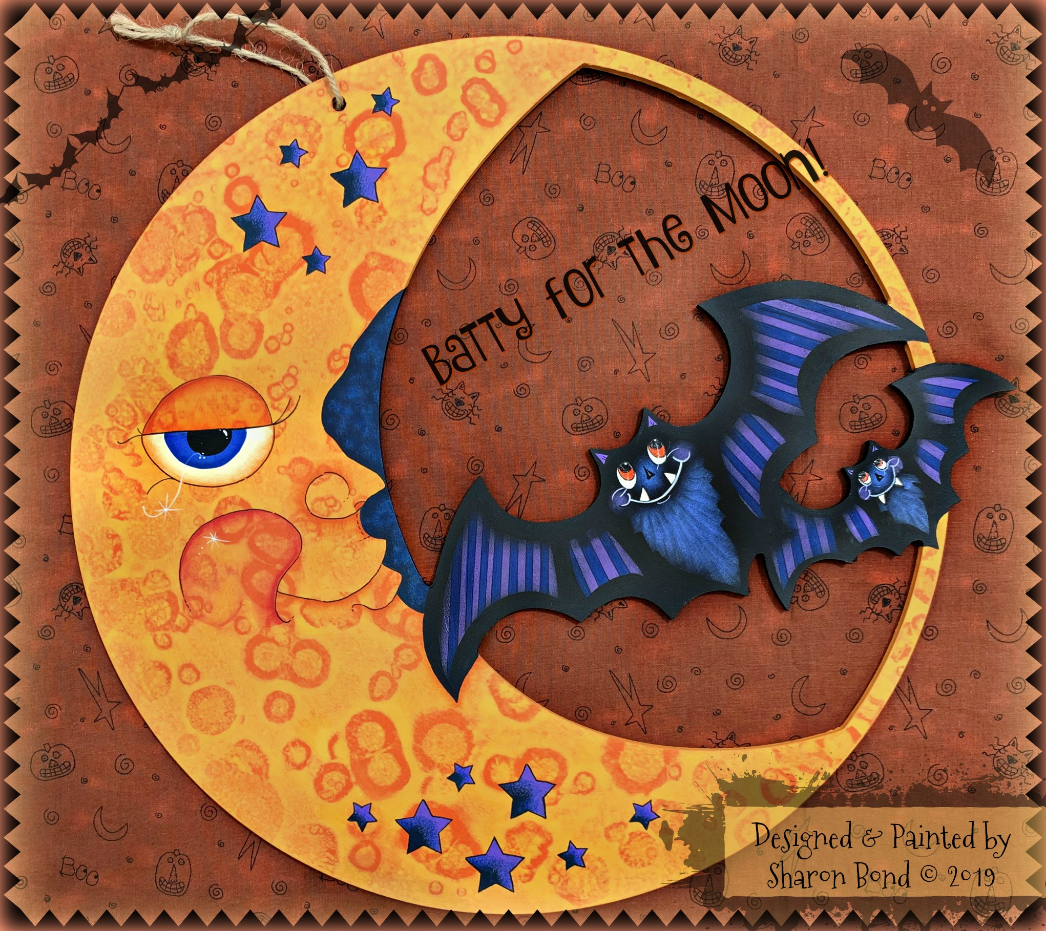Batty For The Moon! - E-Packet - Sharon Bond