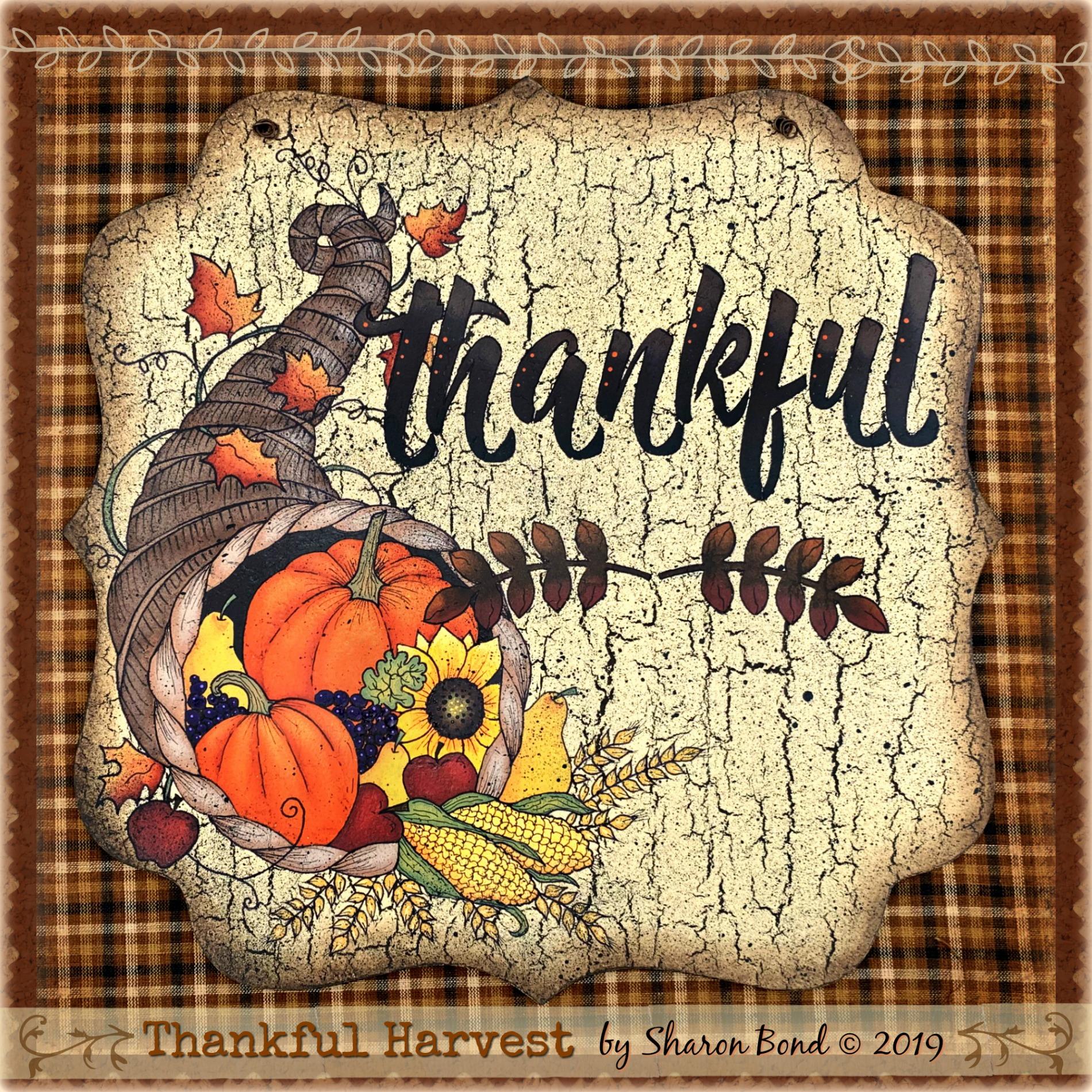 Thankful Harvest - E-Packet - Sharon Bond
