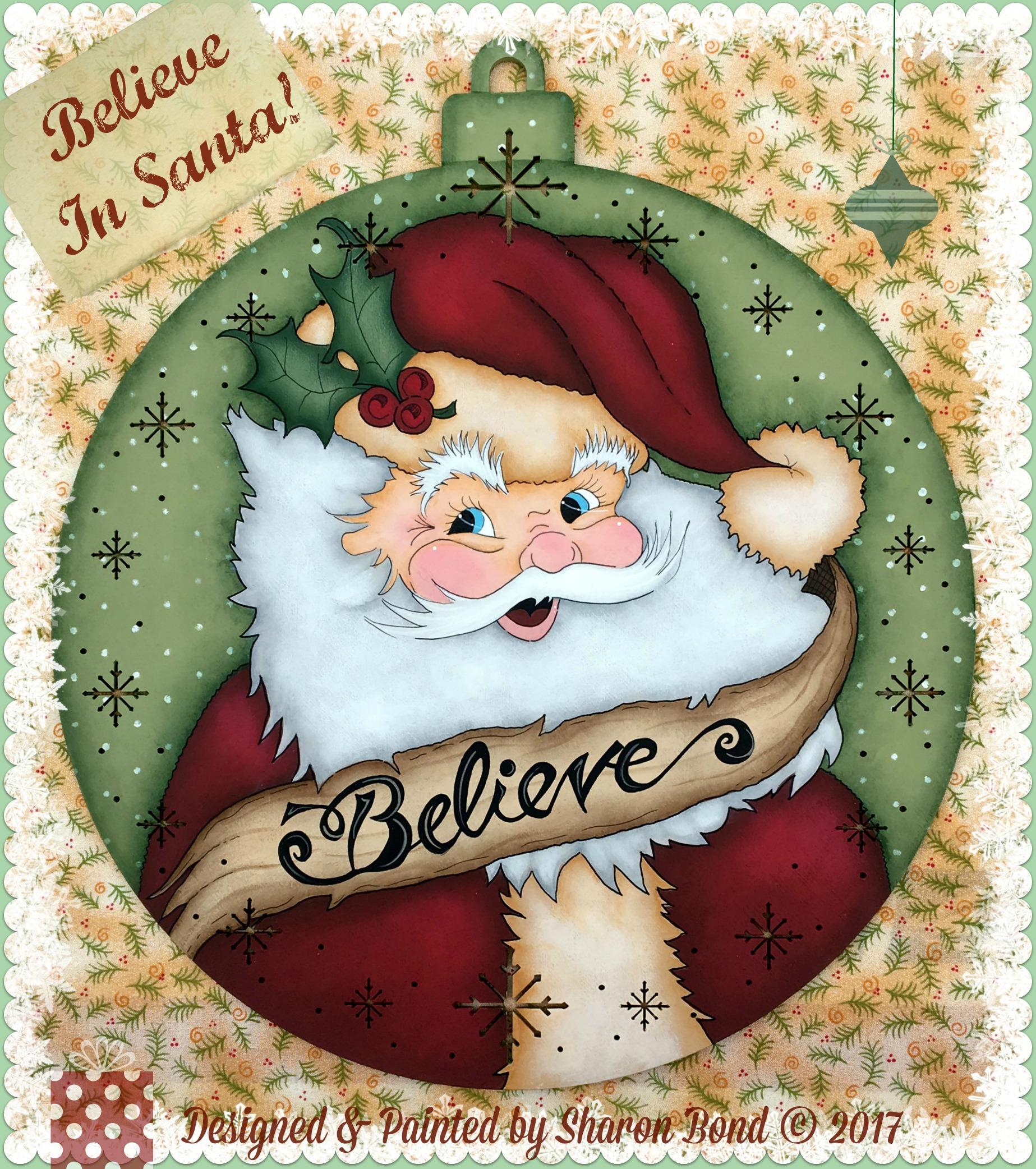 Believe In Santa! - E-Packet - Sharon Bond
