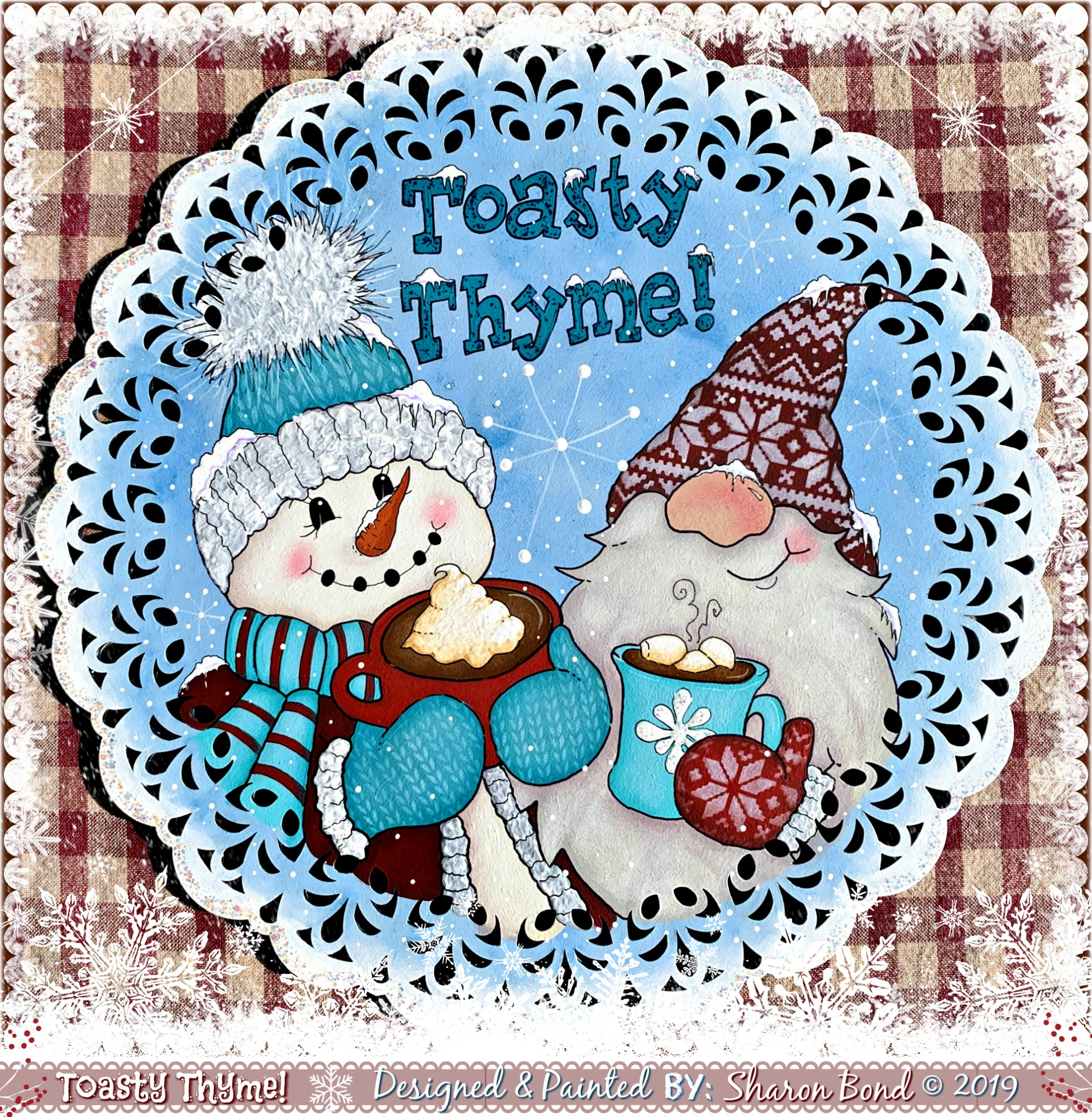 Toasty Thyme - E-Packet - Sharon Bond