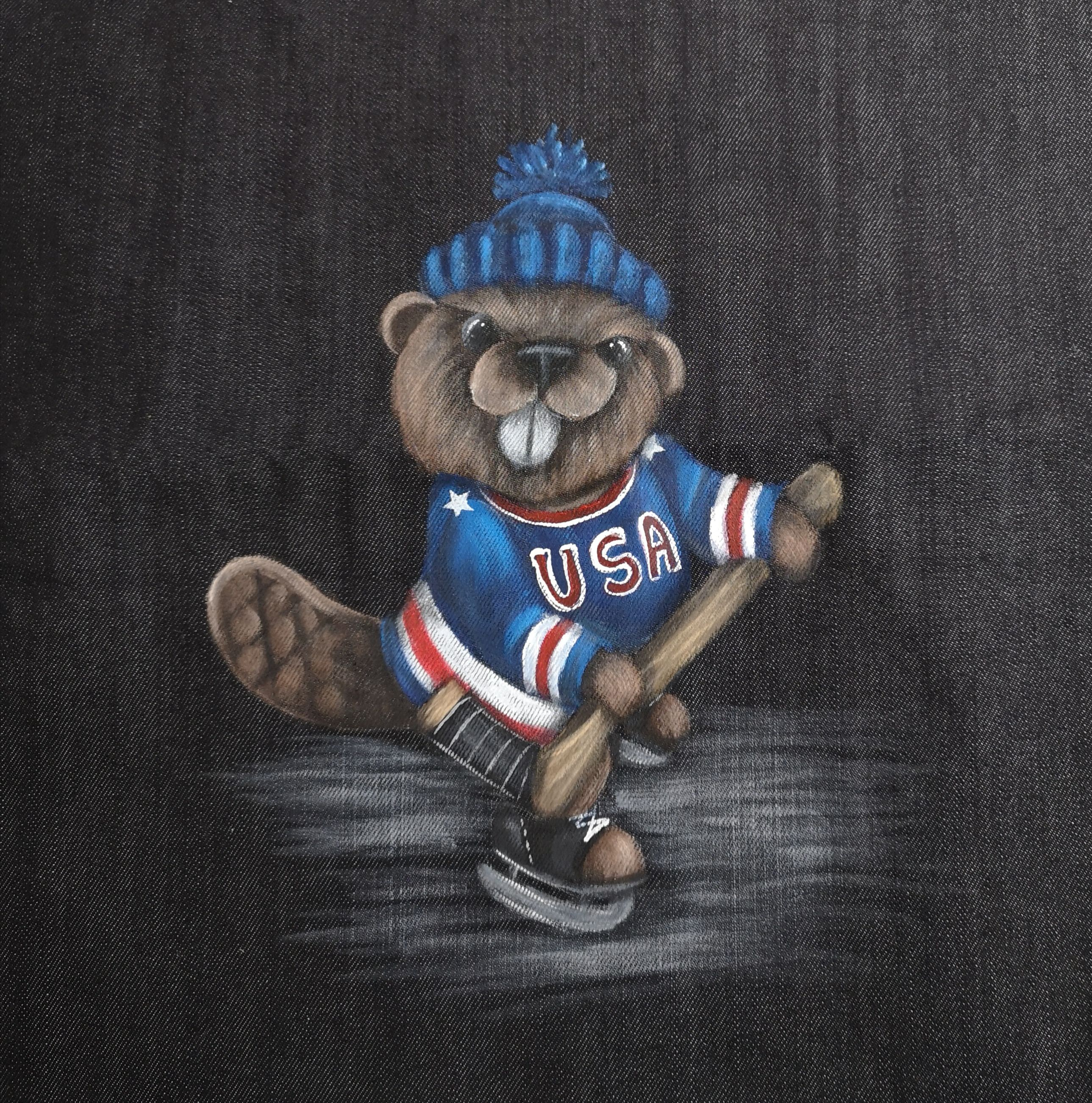 Bernie (The Hockey Beaver) - E-Packet - Wendy Fahey