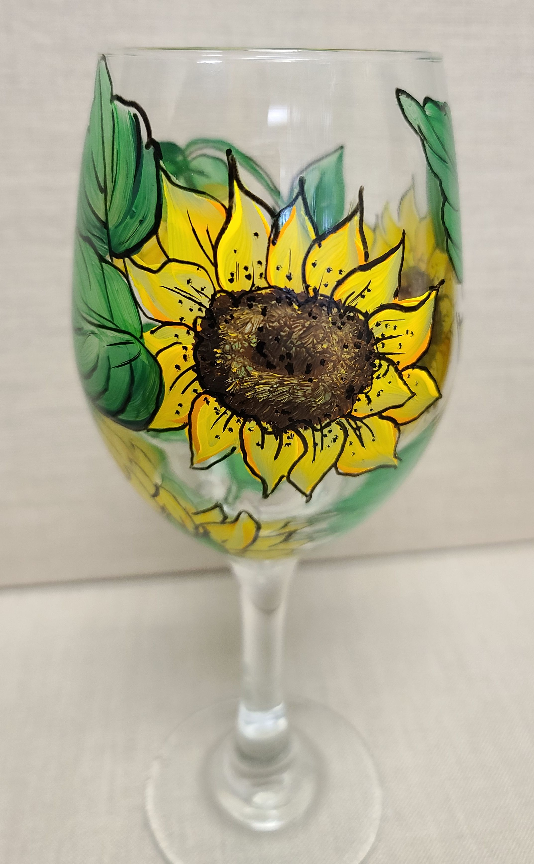 Shine Bright Glass Painting - E-Packet - Wendy Fahey