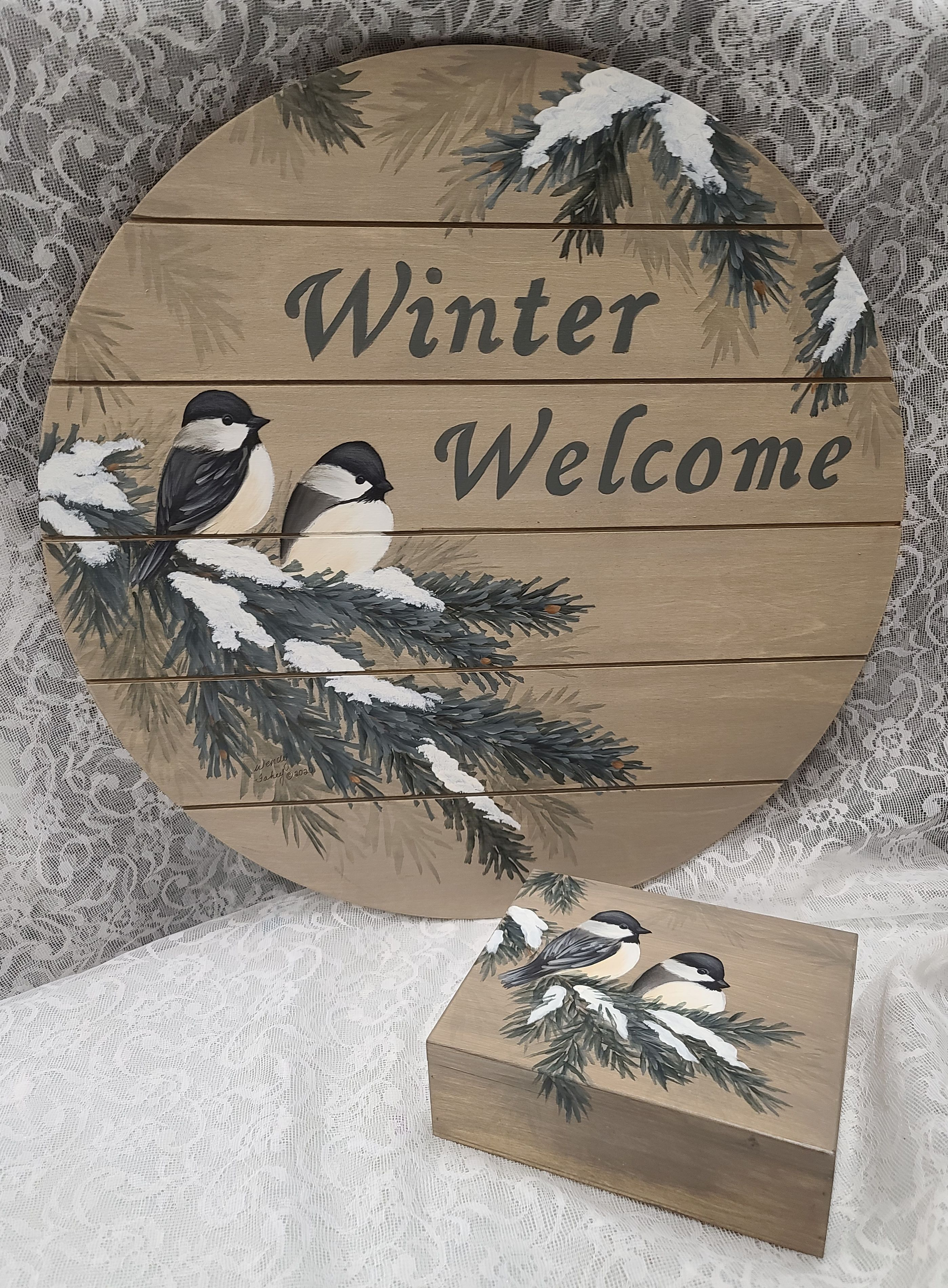 Songbird Winter Welcome - E-Packet - Wendy Fahey