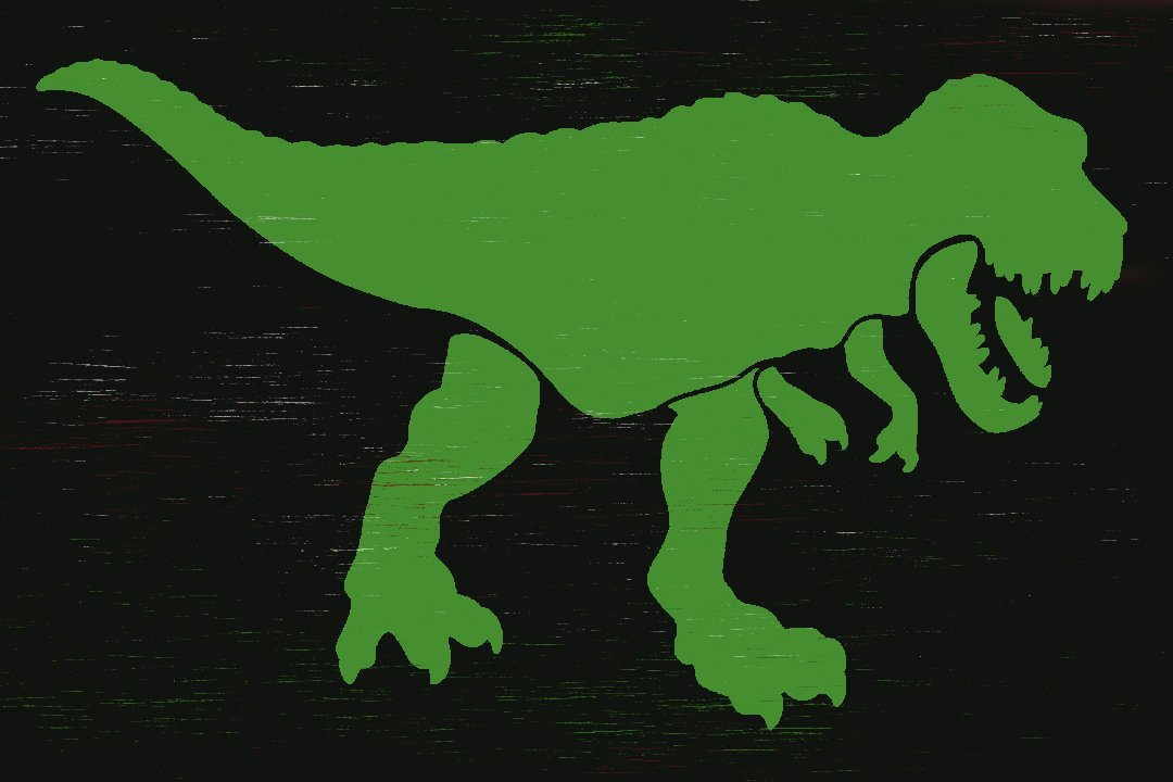 Tyrannosaurus Stencil by StudioR12 | DIY Dinosaur Bedroom Decor | Create Dino Party Decorations | Craft & Paint Wood Sign | Select Size