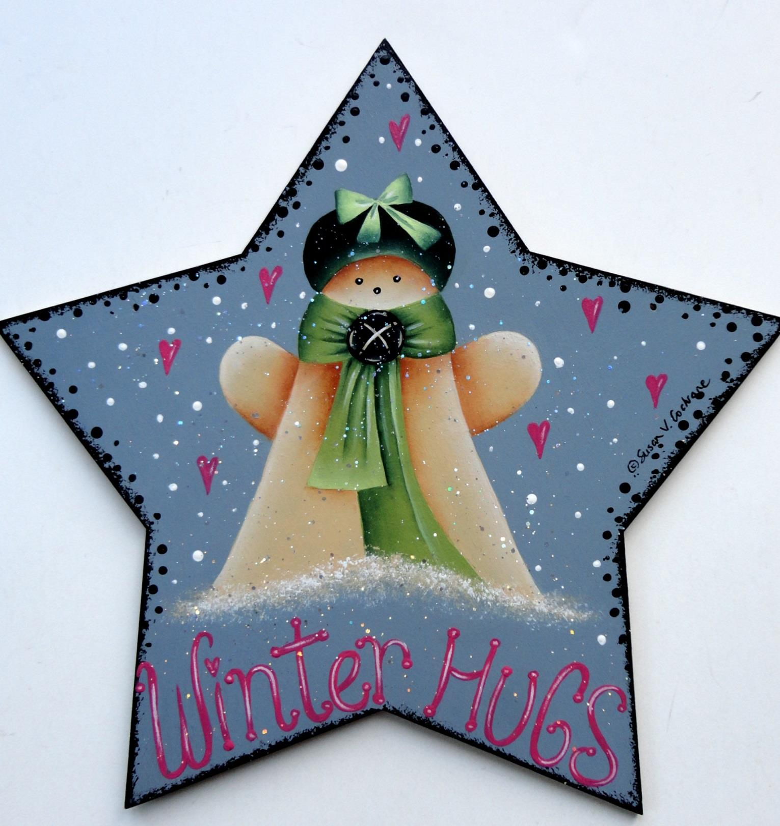 Winter Hugs From Mom - E-Packet - Susan Cochrane