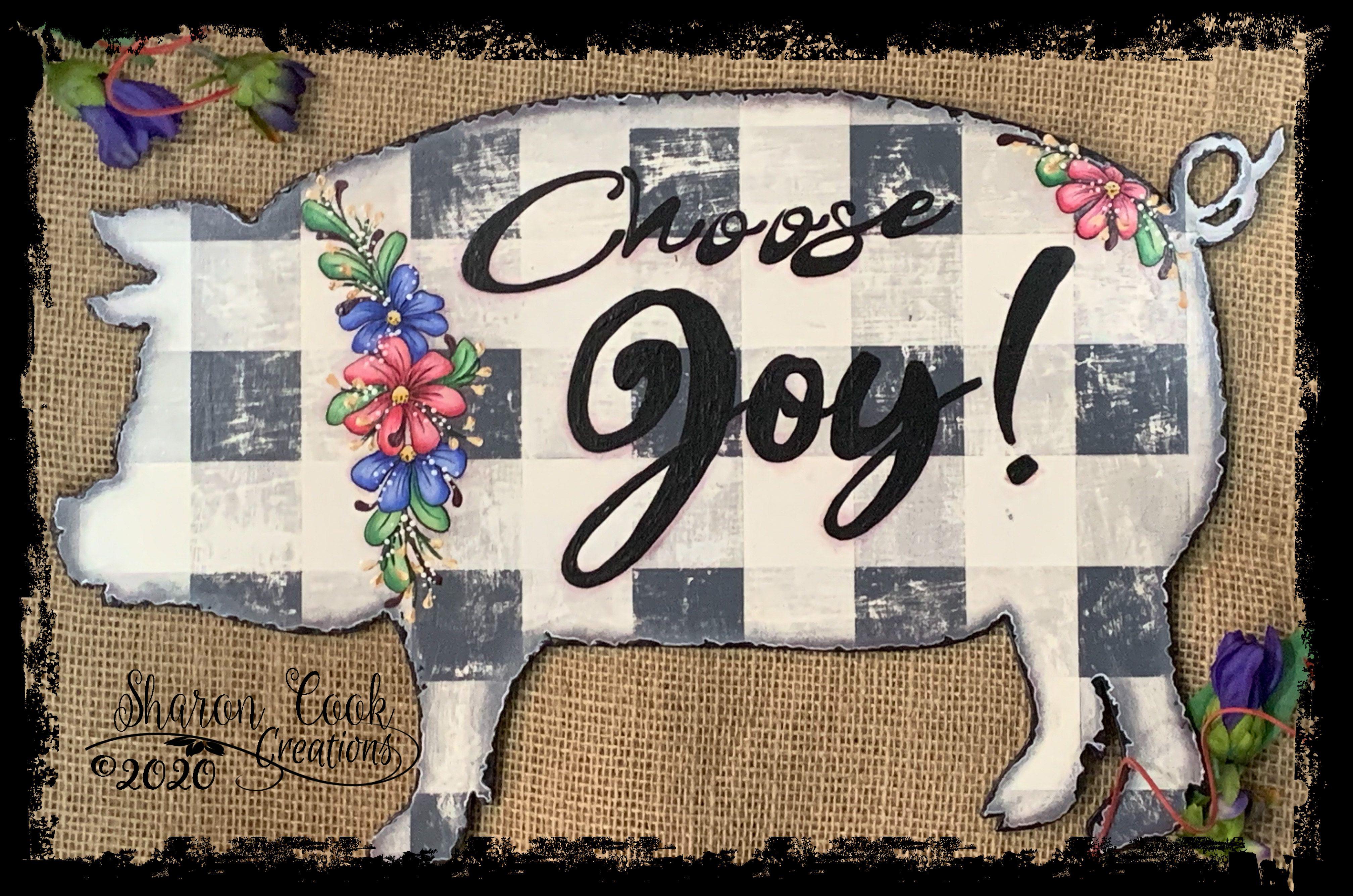 Choose Joy! - E-Packet - Sharon Cook