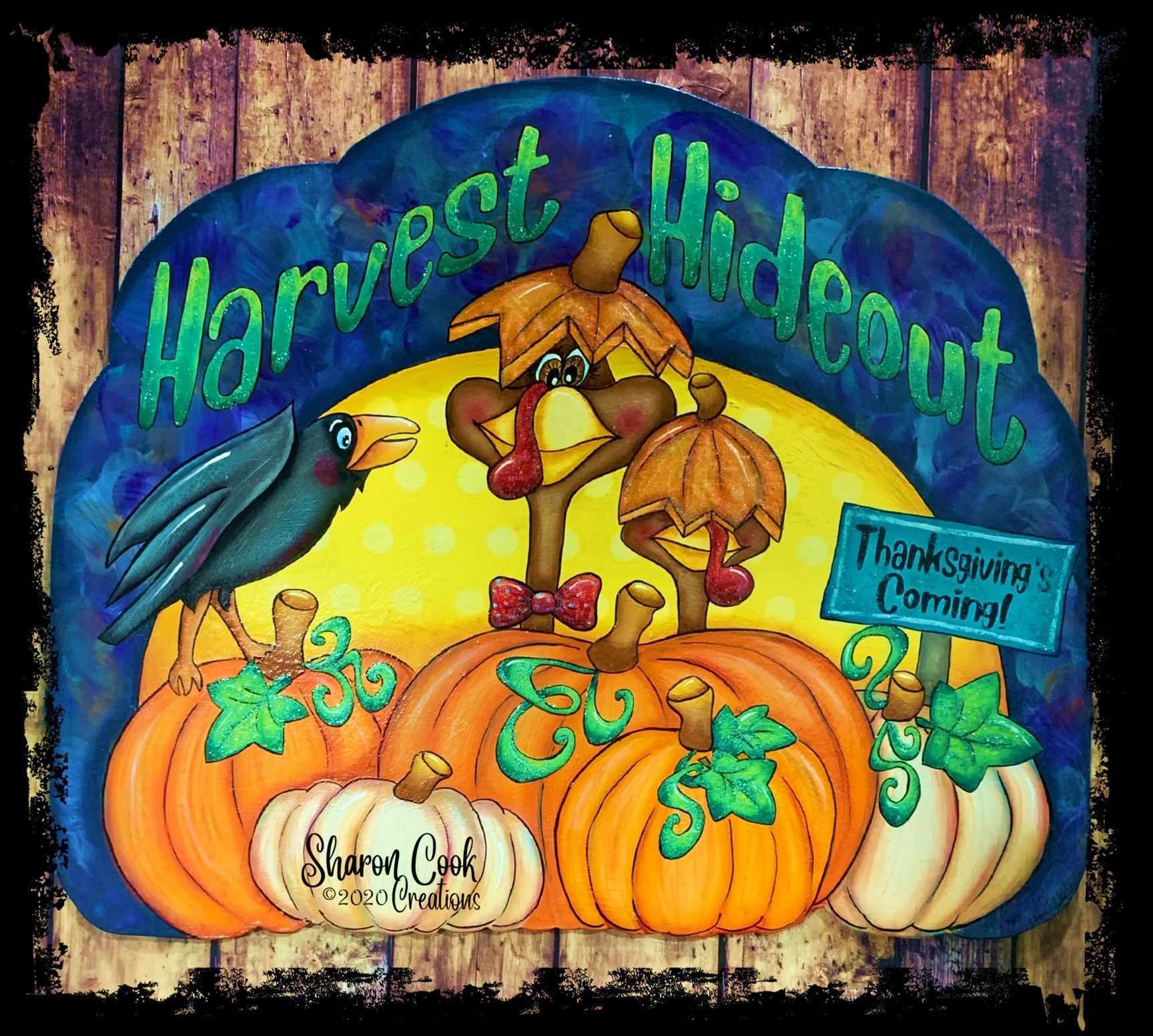 Harvest Hideout - E-Packet - Sharon Cook
