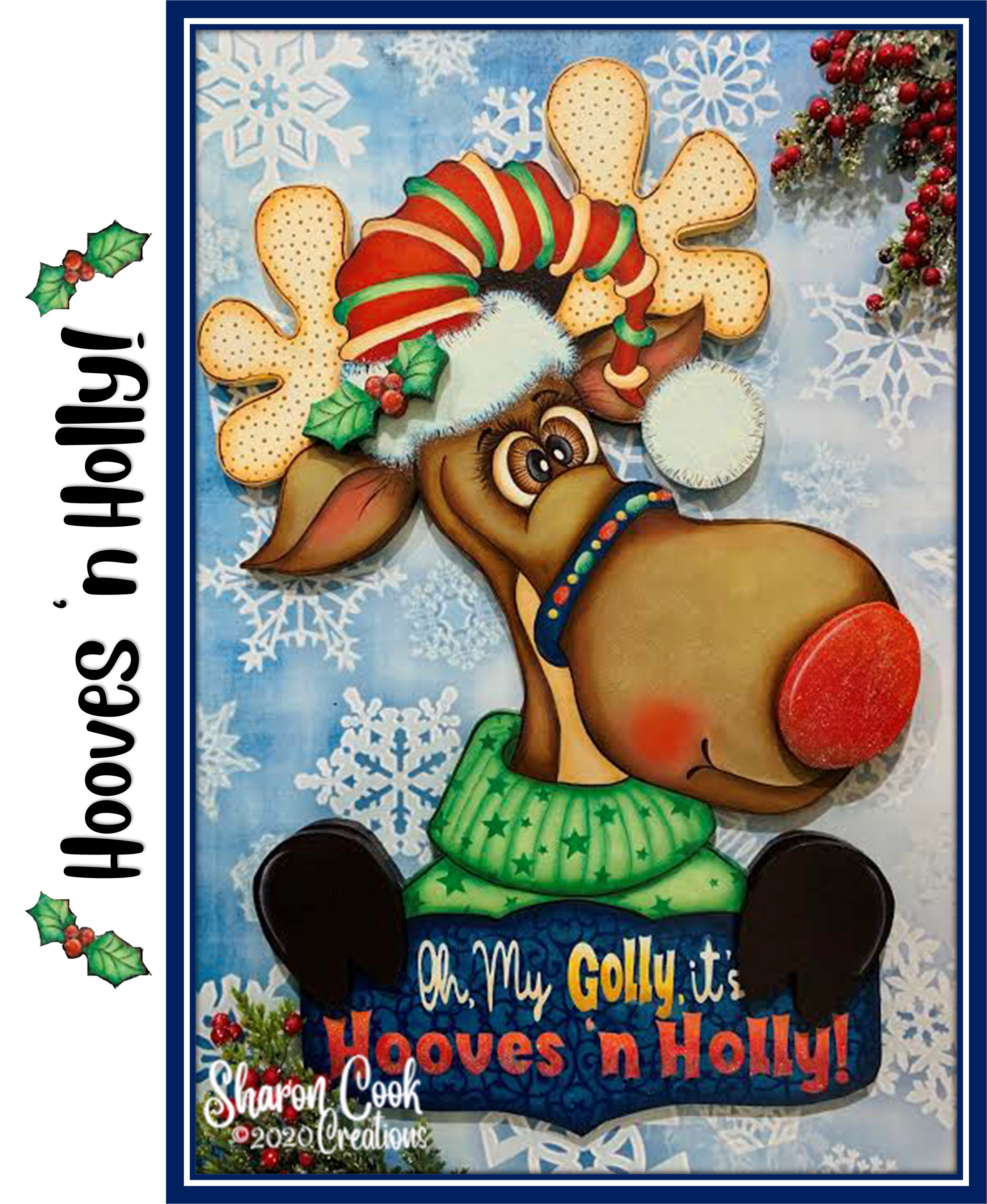 Hooves 'n Holly - E-Packet - Sharon Cook