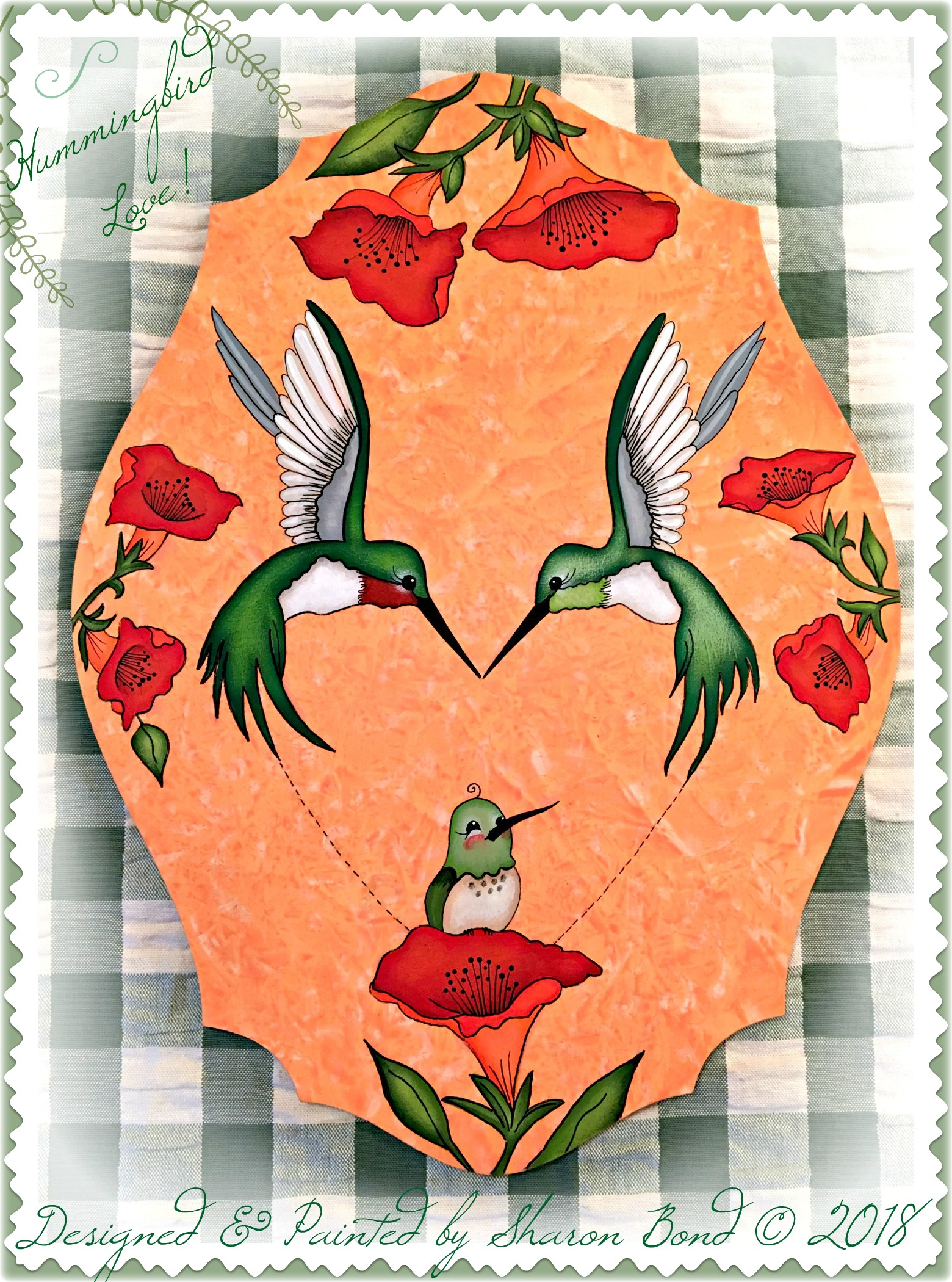 Hummingbird Love! - E-Packet - Sharon Bond