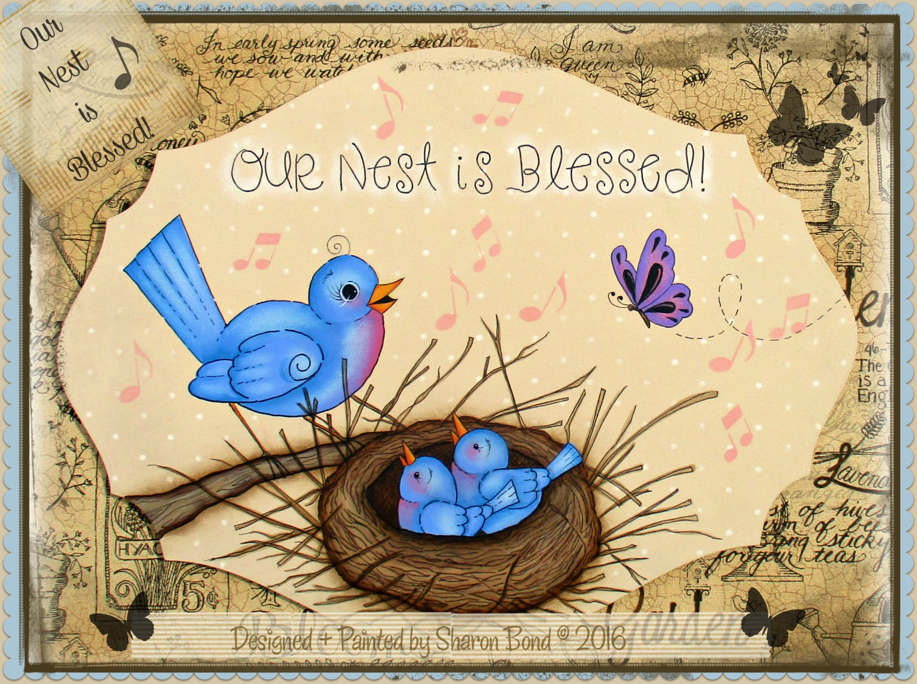 Our Nest Is Blessed! - E-Packet - Sharon Bond