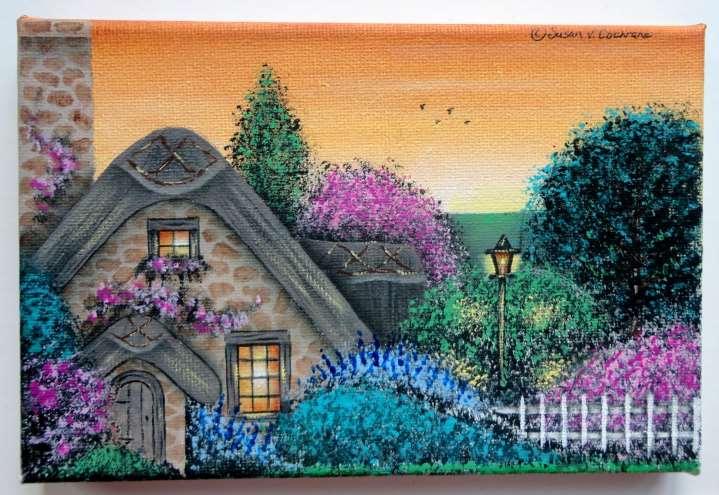 Dusk At The Cottage - E-Packet - Susan Cochrane