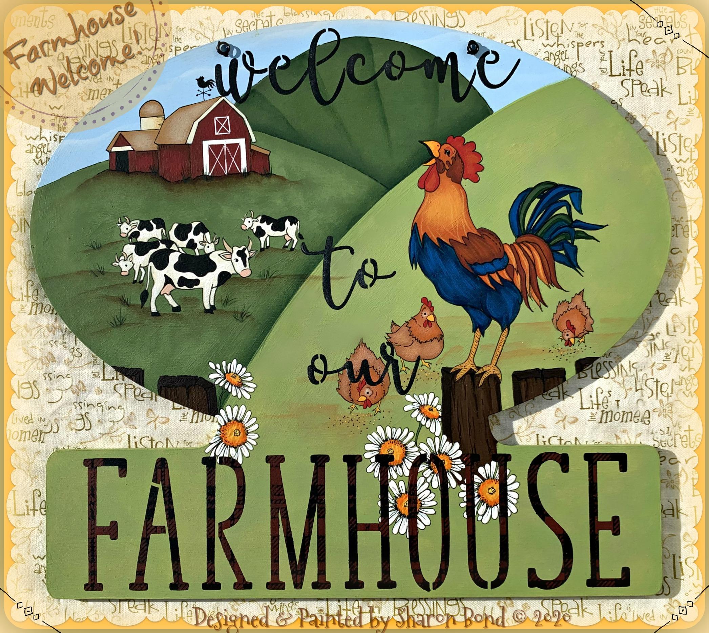 Farmhouse Welcome! - E-Packet - Sharon Bond