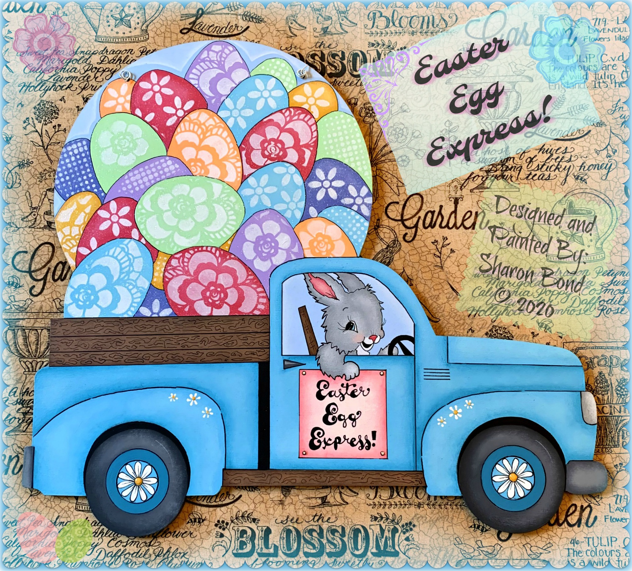 Easter Egg Express! - E-Packet - Sharon Bond