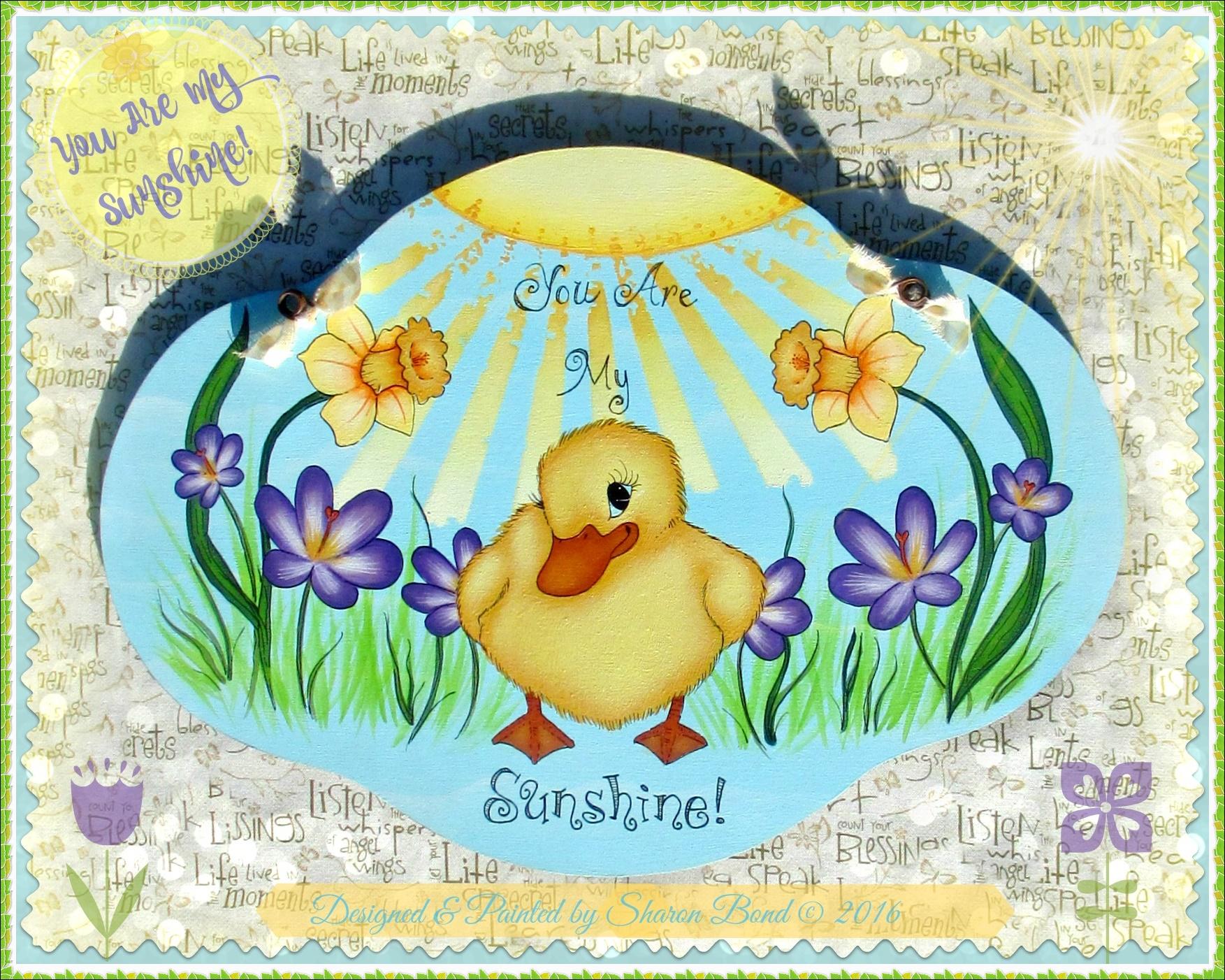 You Are My Sunshine! - E-Packet - Sharon Bond