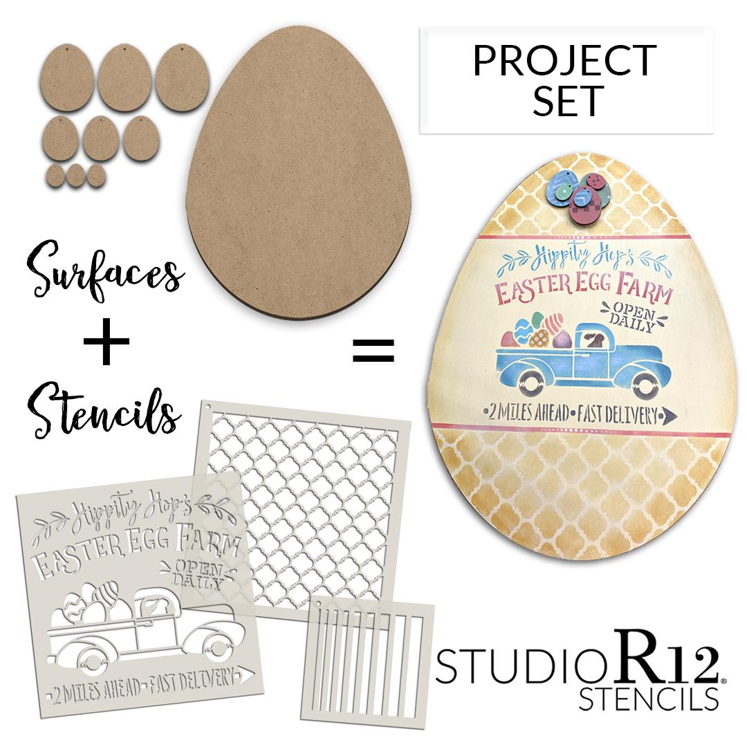 Hippity Hop's Easter Egg Farm Project Set