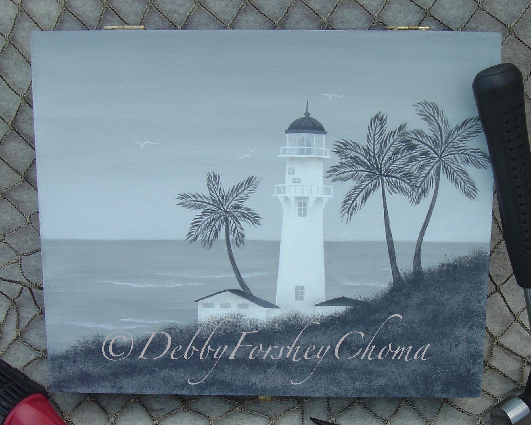 Diamond Head Lighthouse - E-Packet - Debby Forshey-Choma