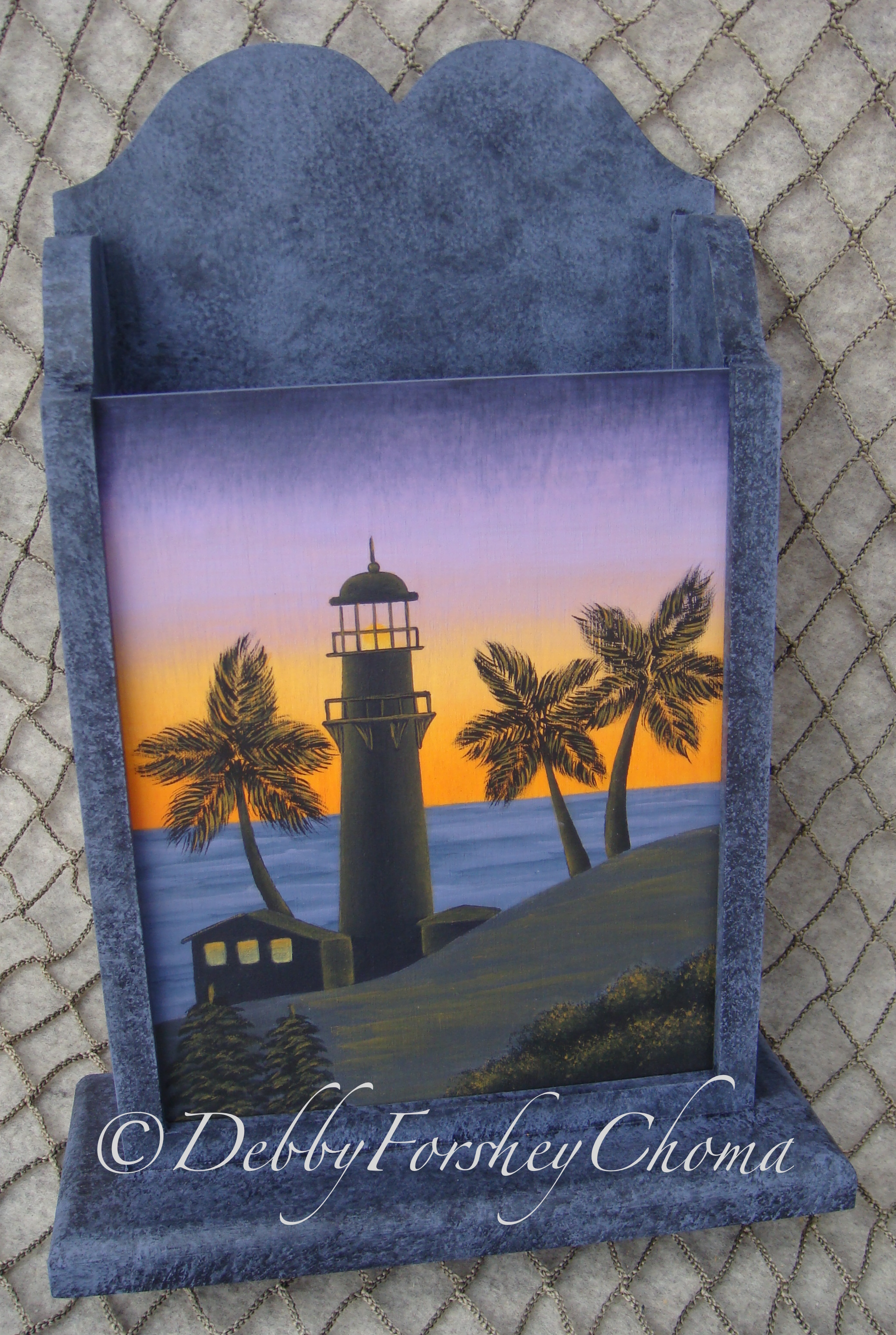 Sunset at Diamond Head Lighthouse - E-Packet - Debby Forshey-Choma