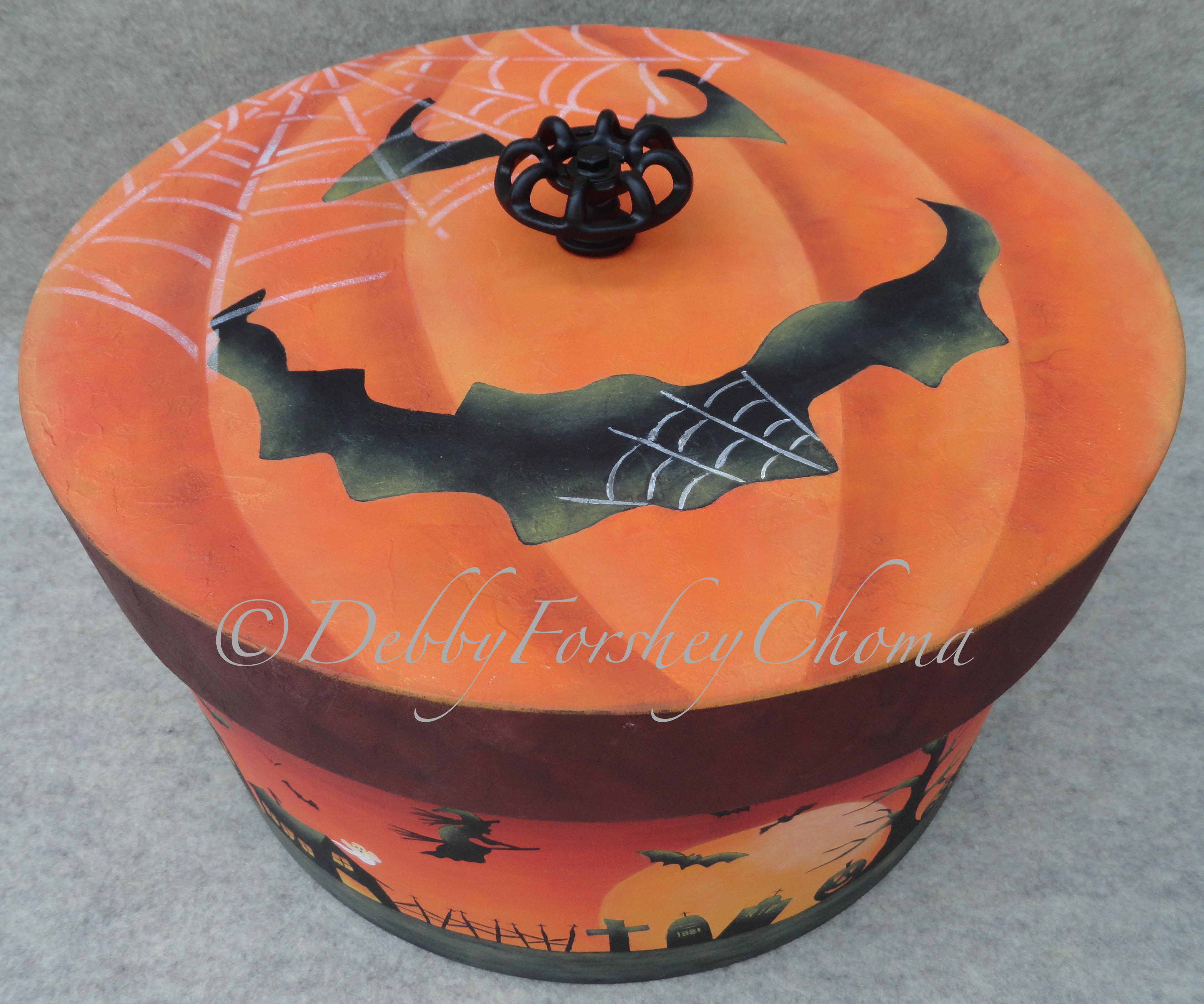 Trick or Treat Goodie Bucket - E-Packet - Debby Forshey-Choma