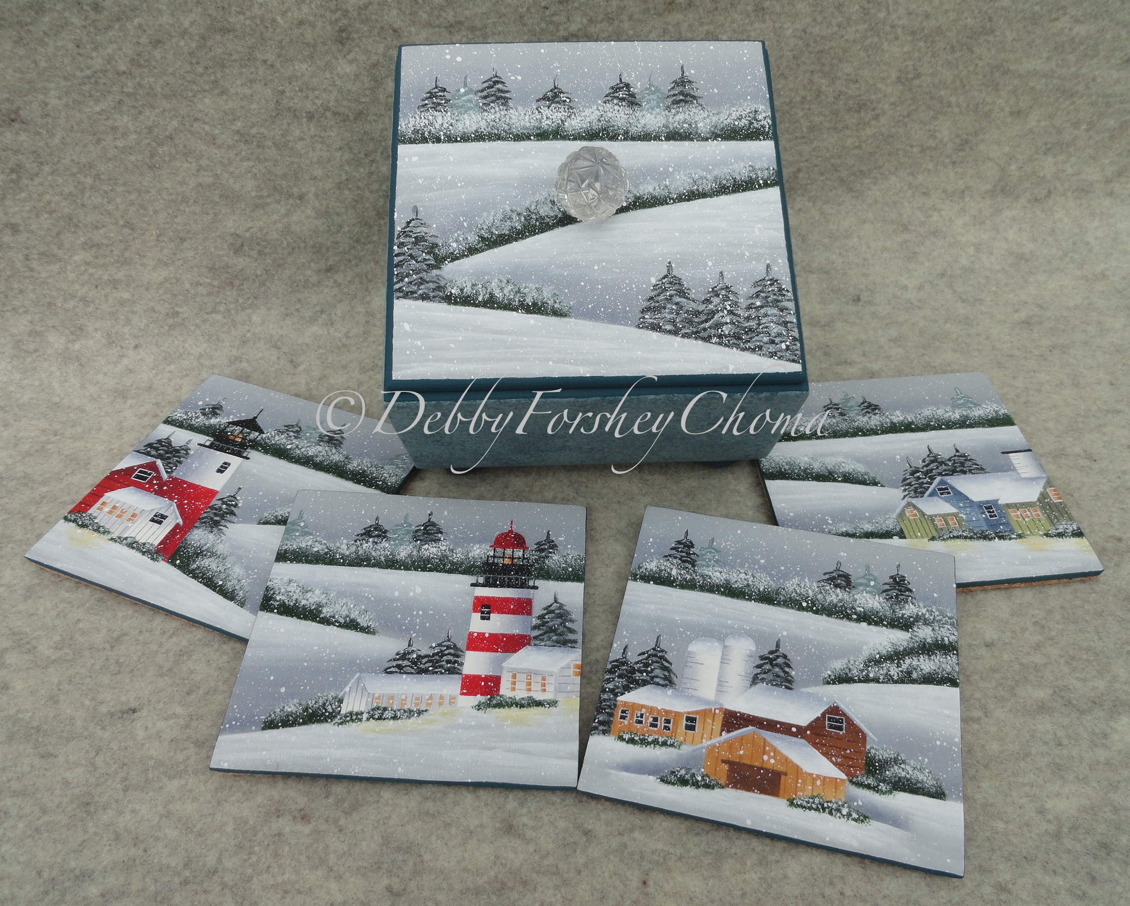 Scenic Winters - E-Packet - Debby Forshey-Choma