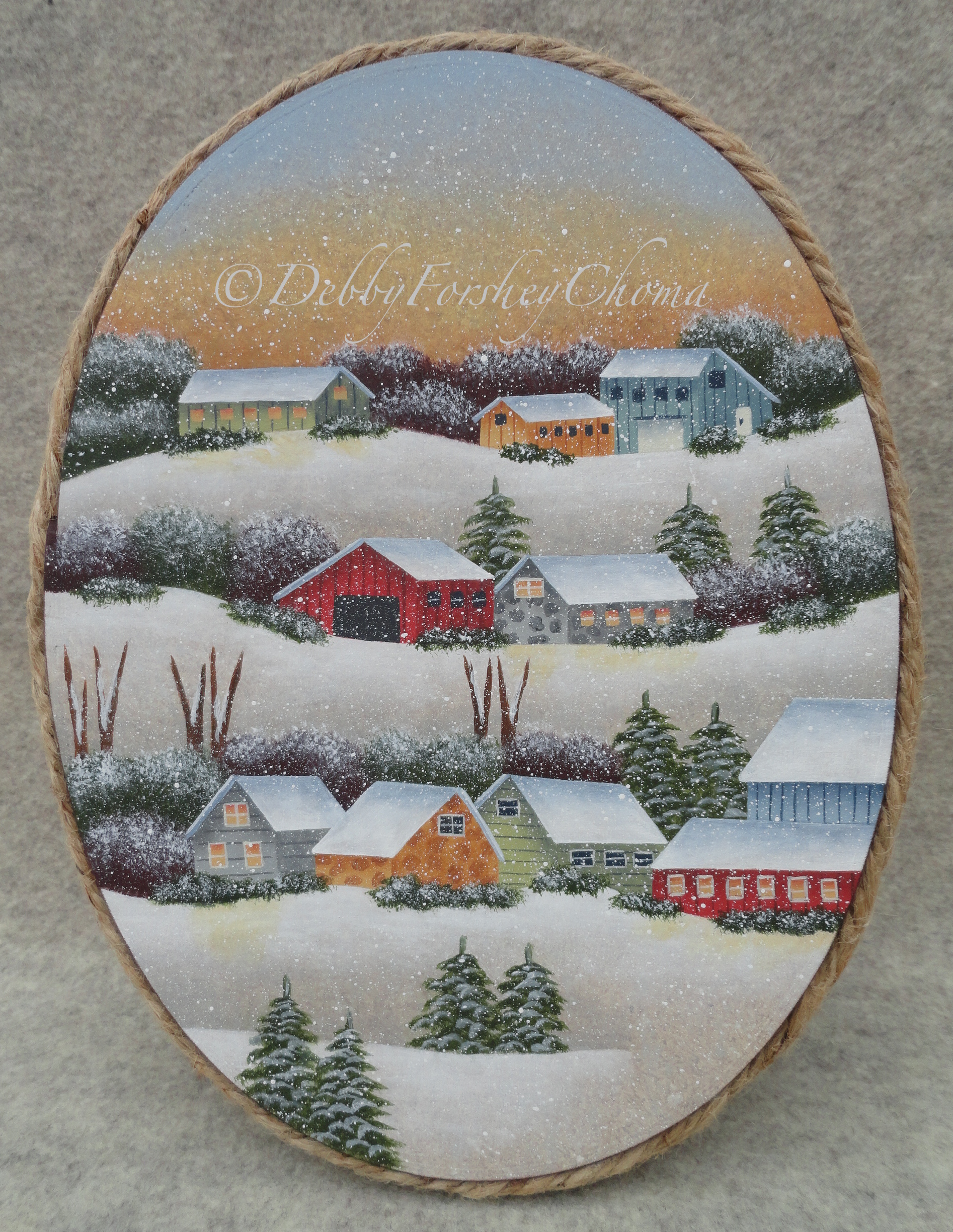 Country Winters - E-Packet - Debby Forshey-Choma