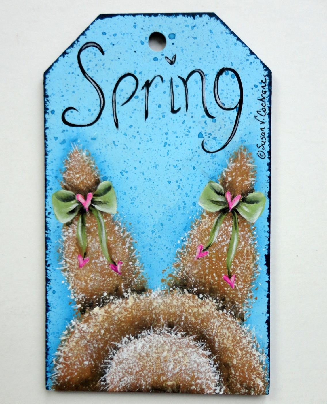 Spring Time Gift Tags  - E-Packet - Susan Cochrane