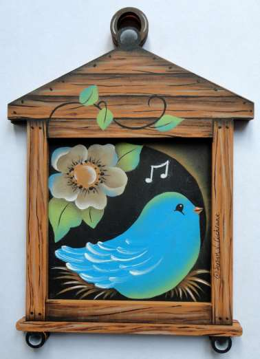Sweet Birds Ornament Pair - E-Packet - Susan Cochrane
