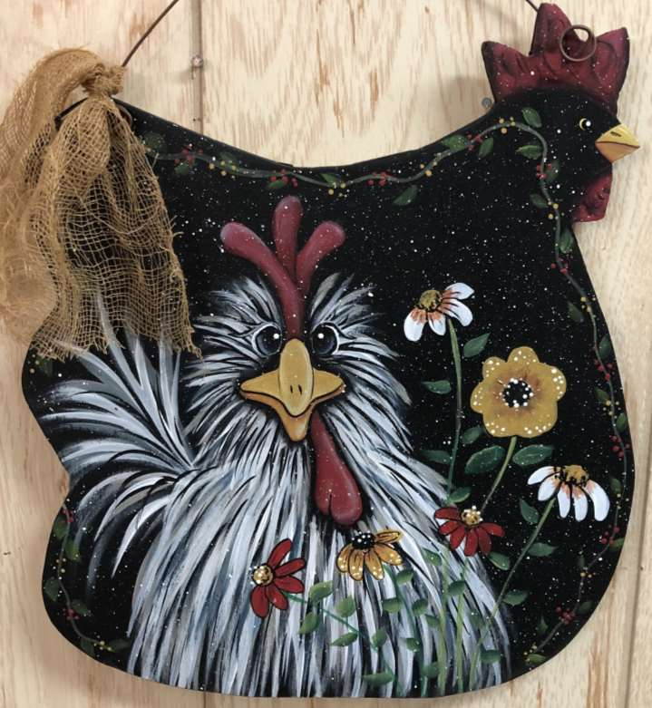 Chicken and Flowers - E-Packet - Betty Bowers