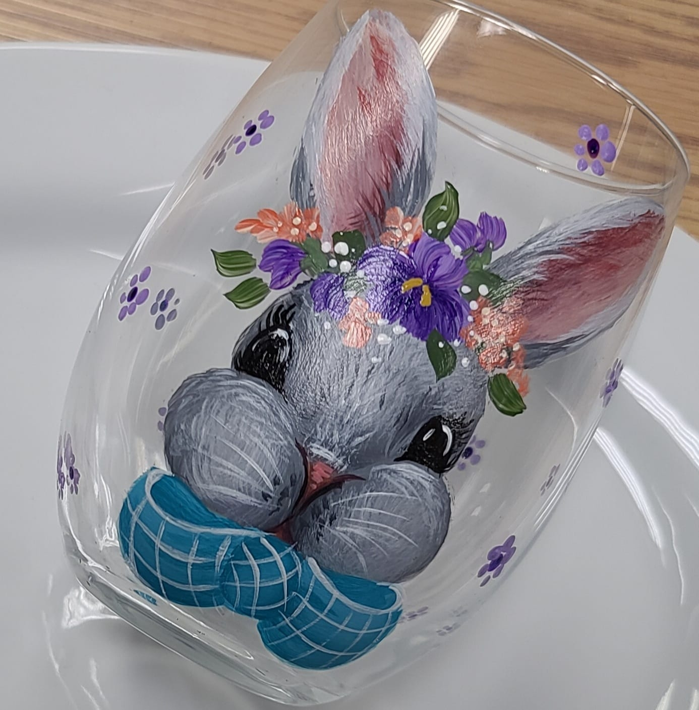 Lilly Belle Glass Painting - E-Packet - Wendy Fahey