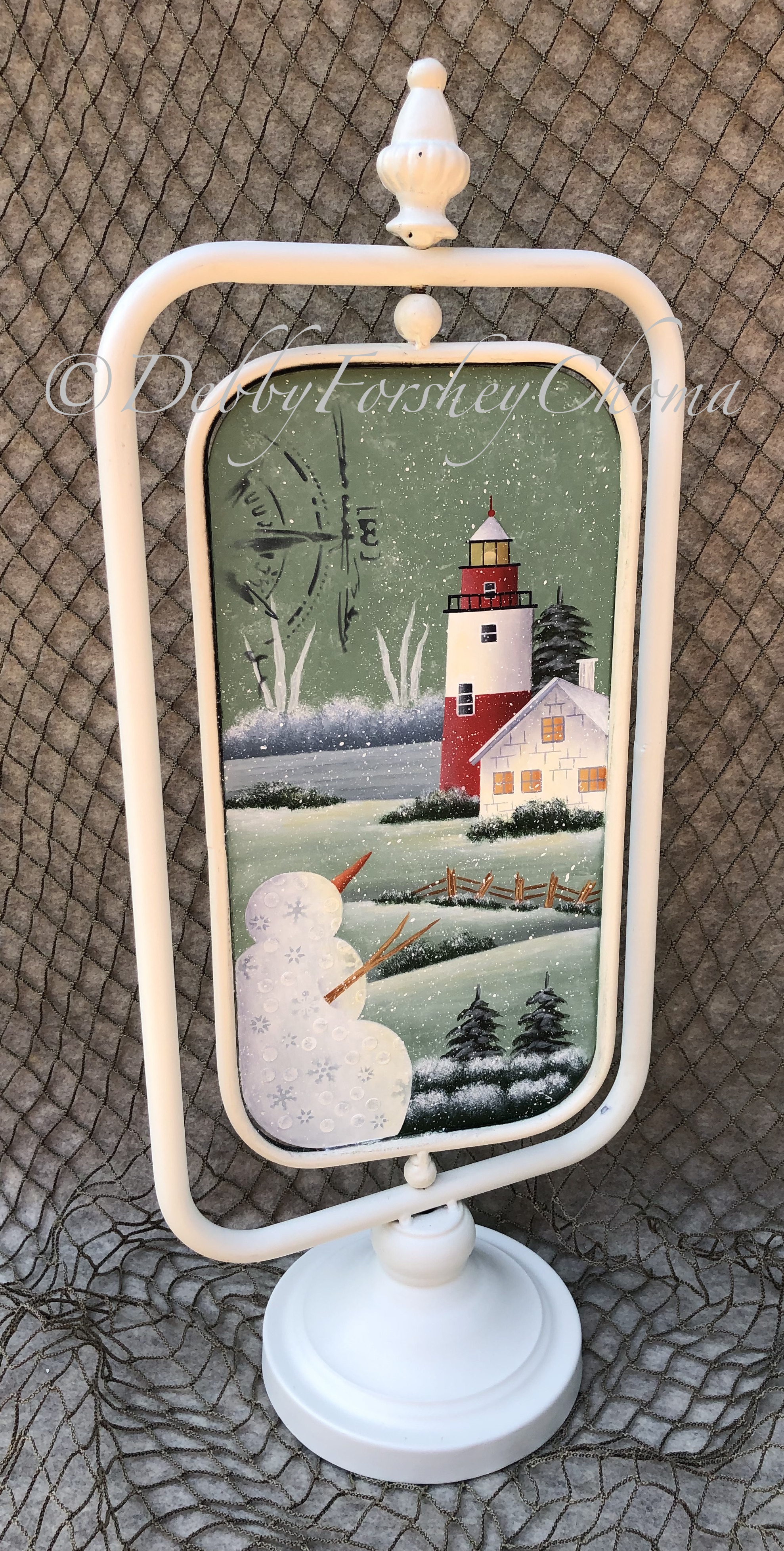 East Point Light Tower - E-Packet - Debby Forshey-Choma