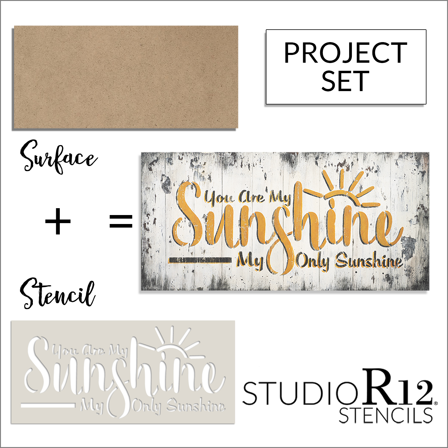 You Are My Sunshine Project Set | CMBN533