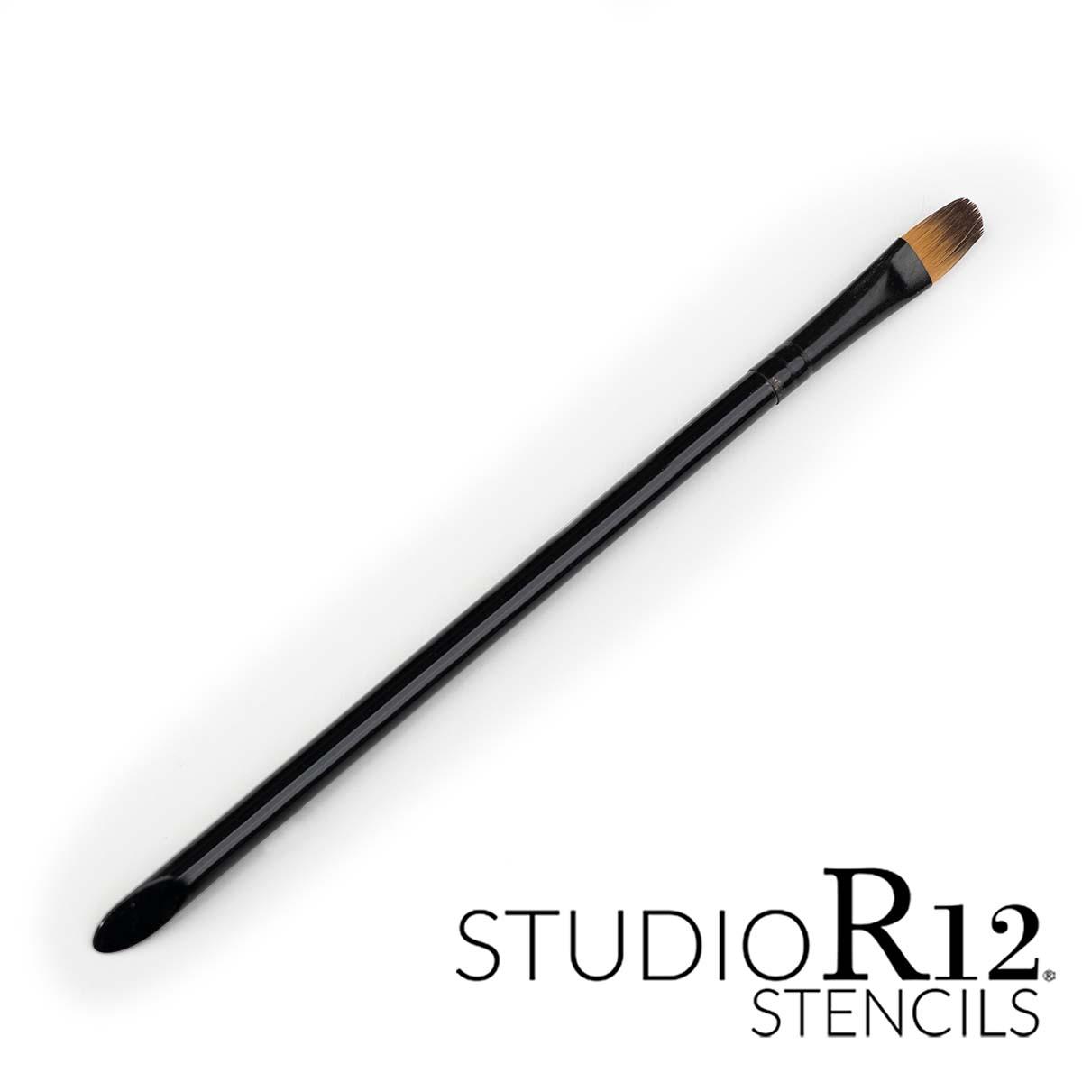 Patty's Flower Filbert/Oval Glaze Brush by StudioR12   Select Size