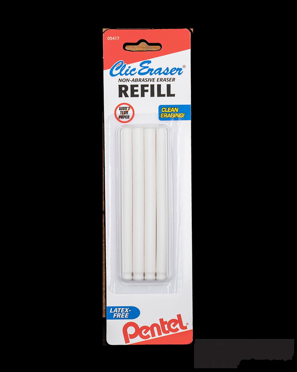 Clic Eraser Refill | Package of 4 | Pentel ZE | TOOL660