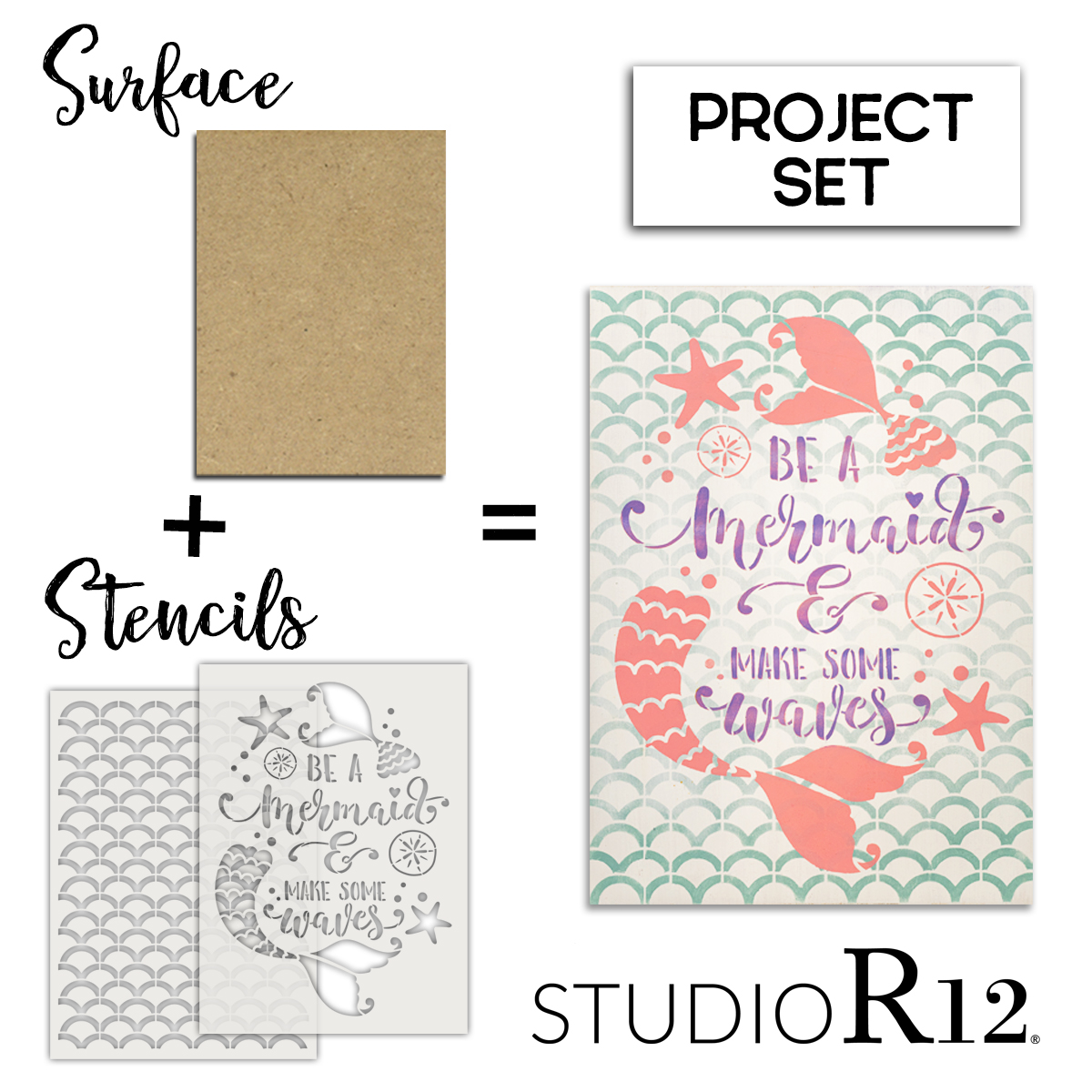 Be A Mermaid Make Some Waves Project Set | CMBN539