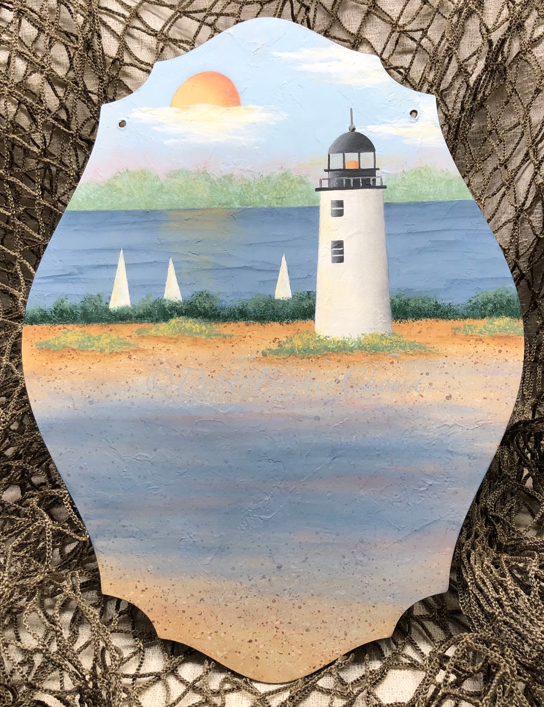 Lighthouse Beach - E-Packet - Debby Forshey-Choma
