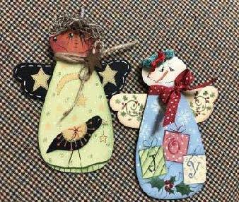 Winter Joy and Fall Pumpkin Angels - E-Packet - Betty Bowers