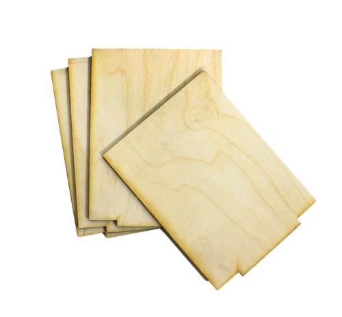 Square Tissue Box - 4pk Replacement Panels