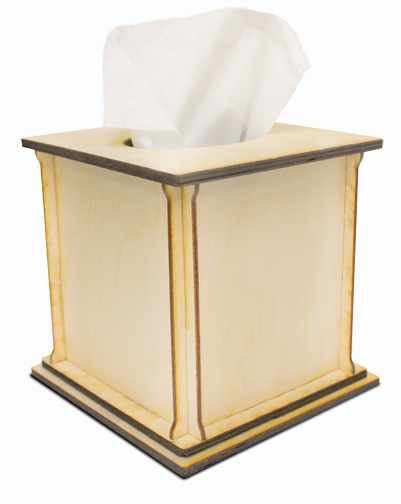 Square Tissue Box - Standard
