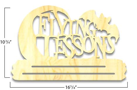 Flying Lessons Banner Topper - Overlay - Medium