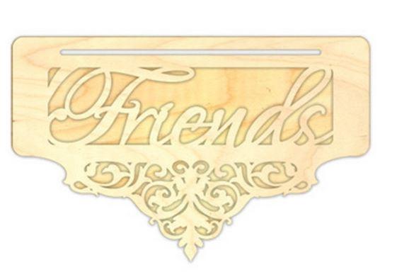 Flourished Friends Overlay Banner Bottomer
